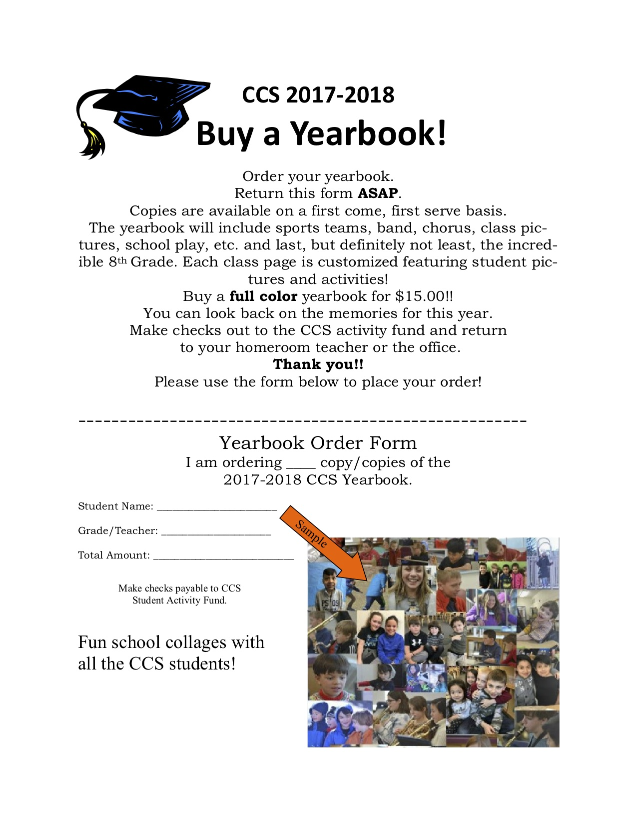 Order Your Yearbook! – Cornwall Consolidated School, Cornwall ...