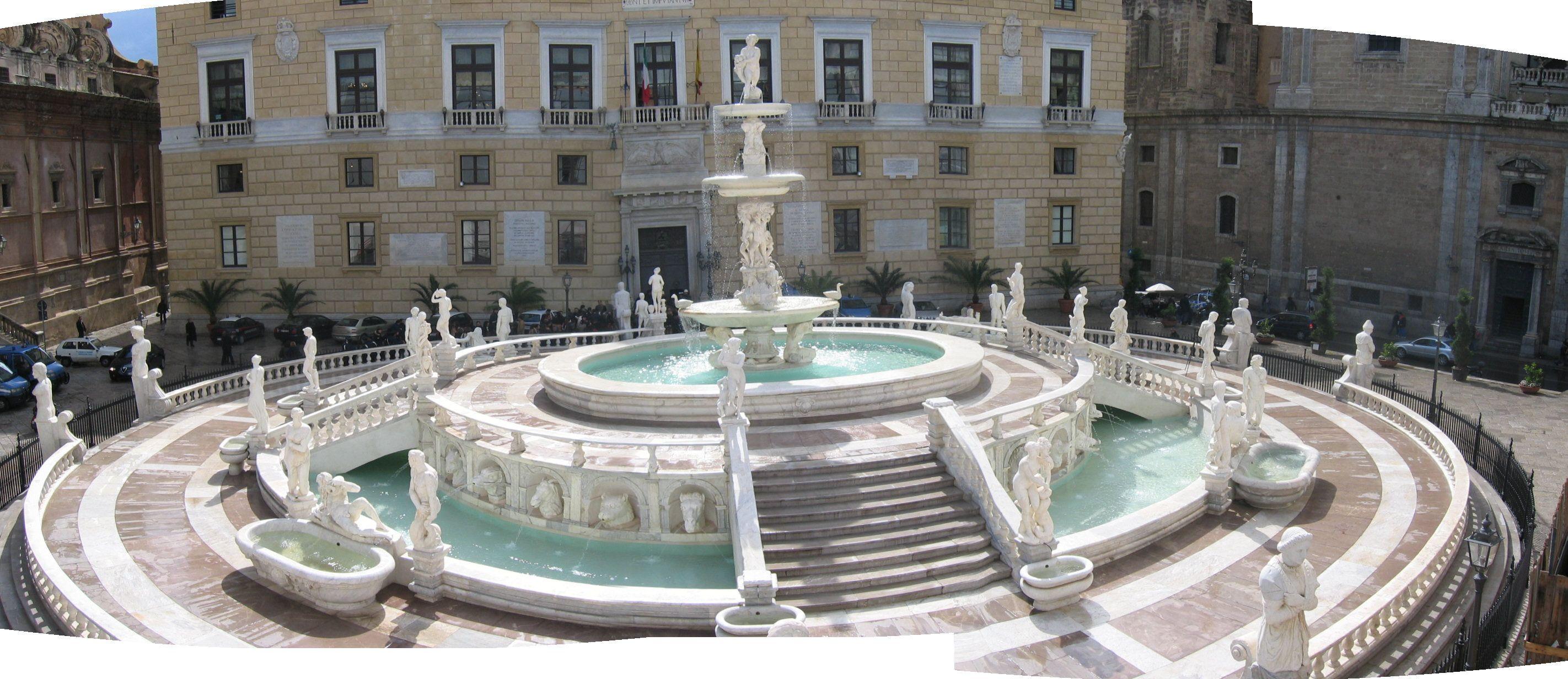 Fontana Pretoria, Palermo, Sicilia. | Sicilia | Pinterest | Pretoria ...