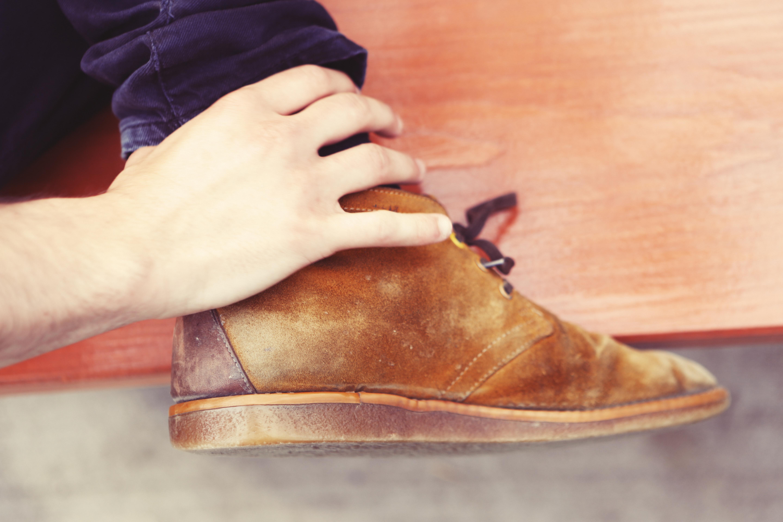 Foot, Parc, Shoes, Leg, Brown, HQ Photo