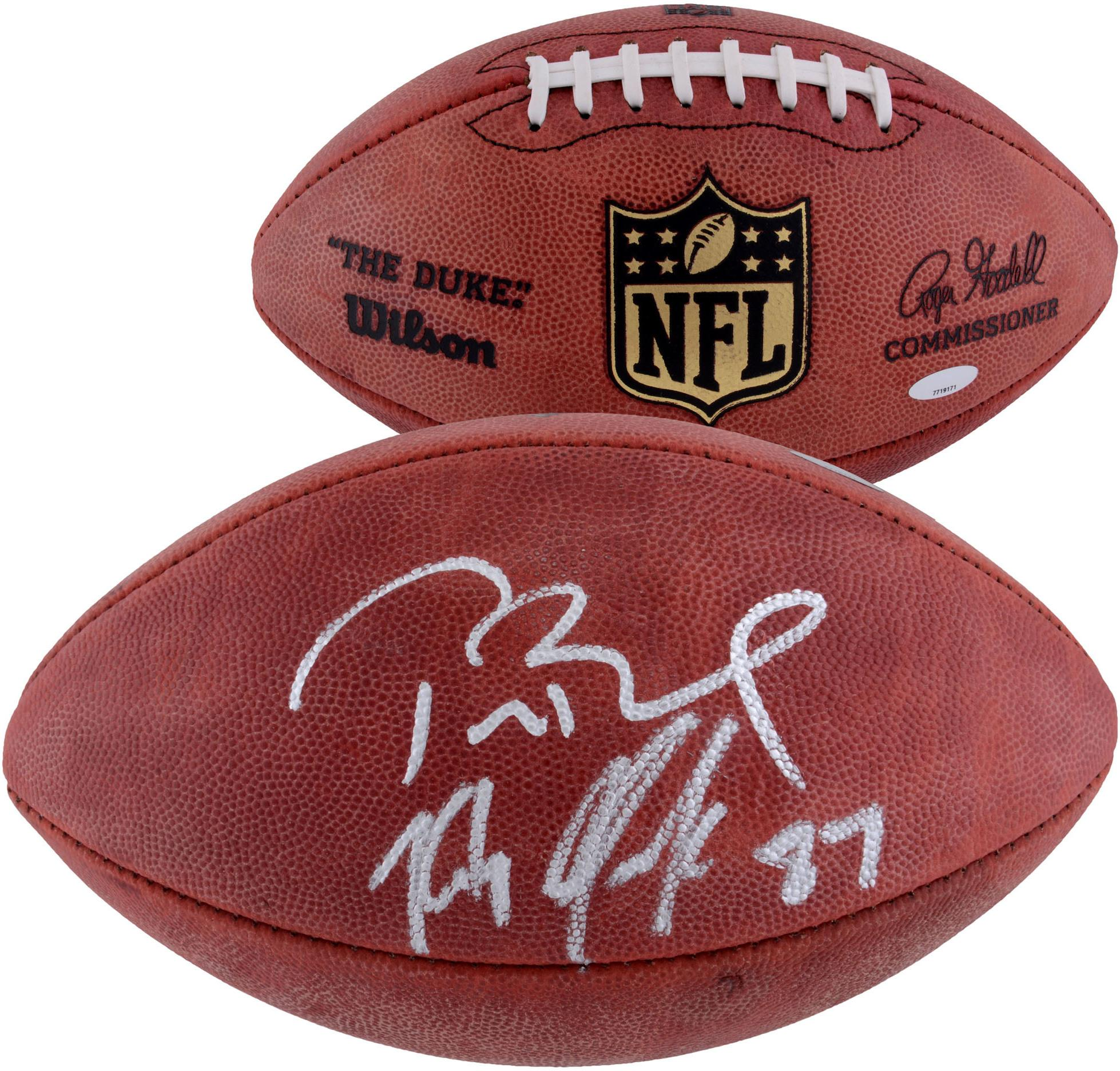 Autographed & Signed Footballs, Signature Football