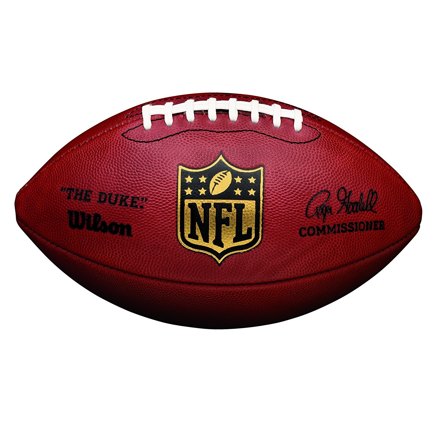 Amazon.com : Wilson The Duke Official NFL Game Football : Sports ...
