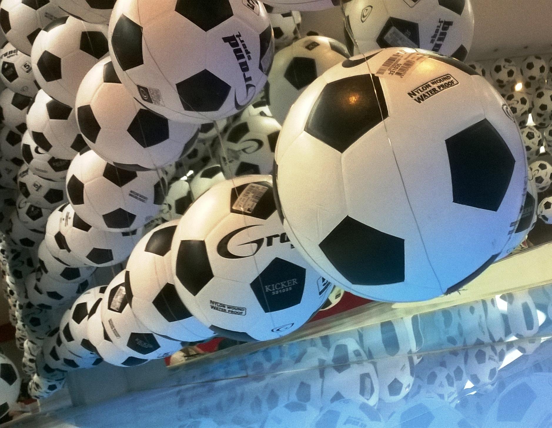 Footballs, Abstract, Interior, Win, Sports, HQ Photo