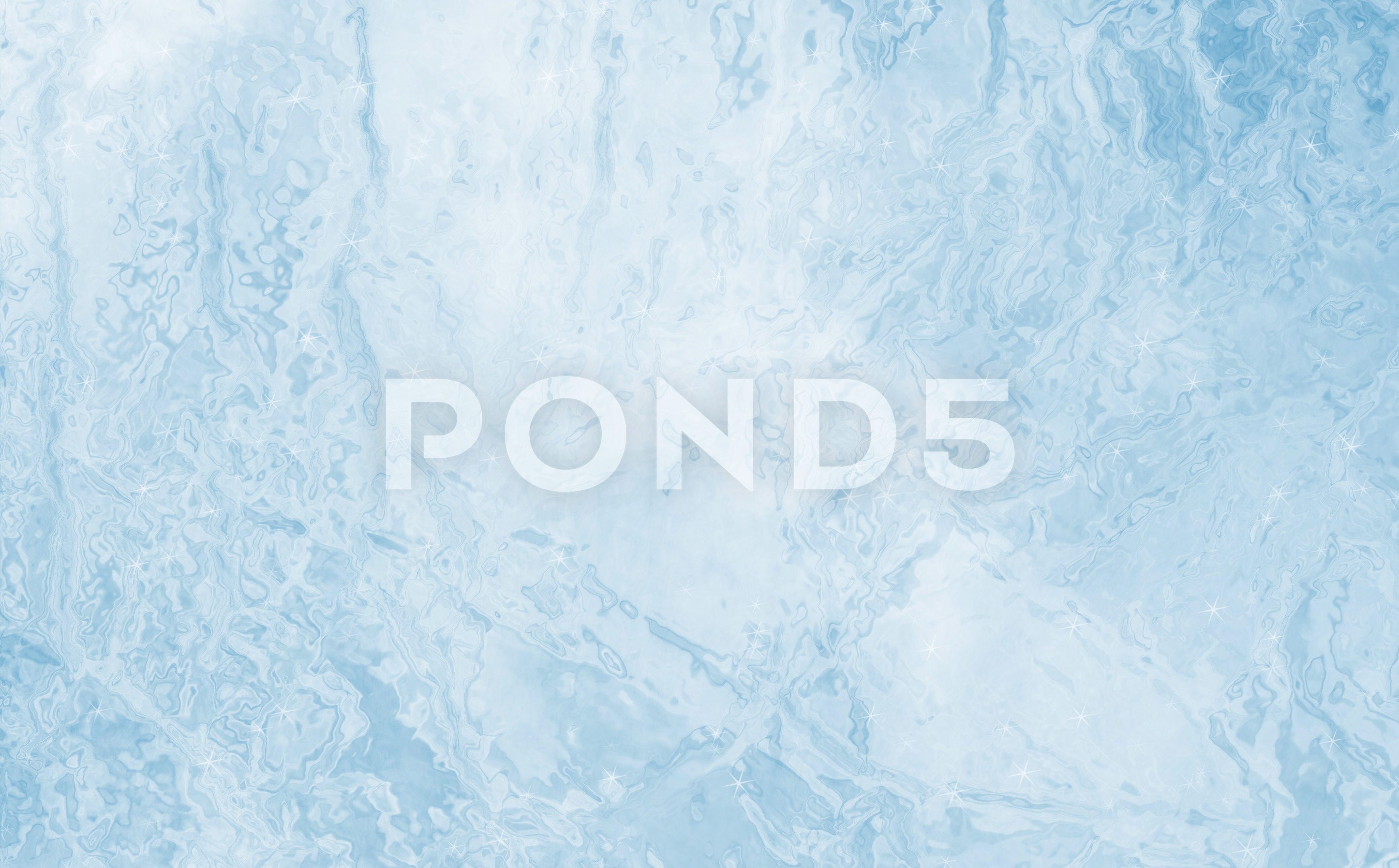 Illustrated frozen cold ice texture background ~ Clip #81728732