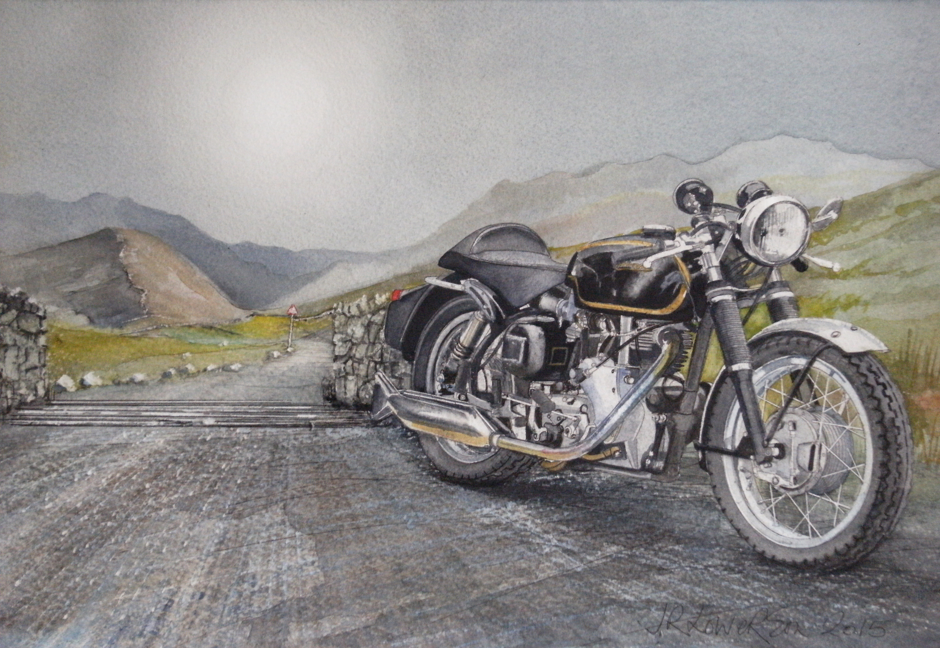 For people and things that went before, Vehicle, Veteran, Vintage, Watercolour, HQ Photo