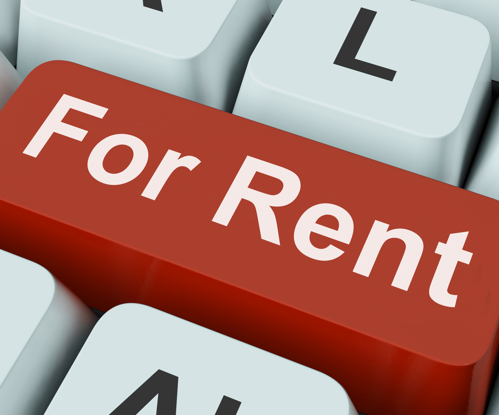 For rent key means lease or rental photo