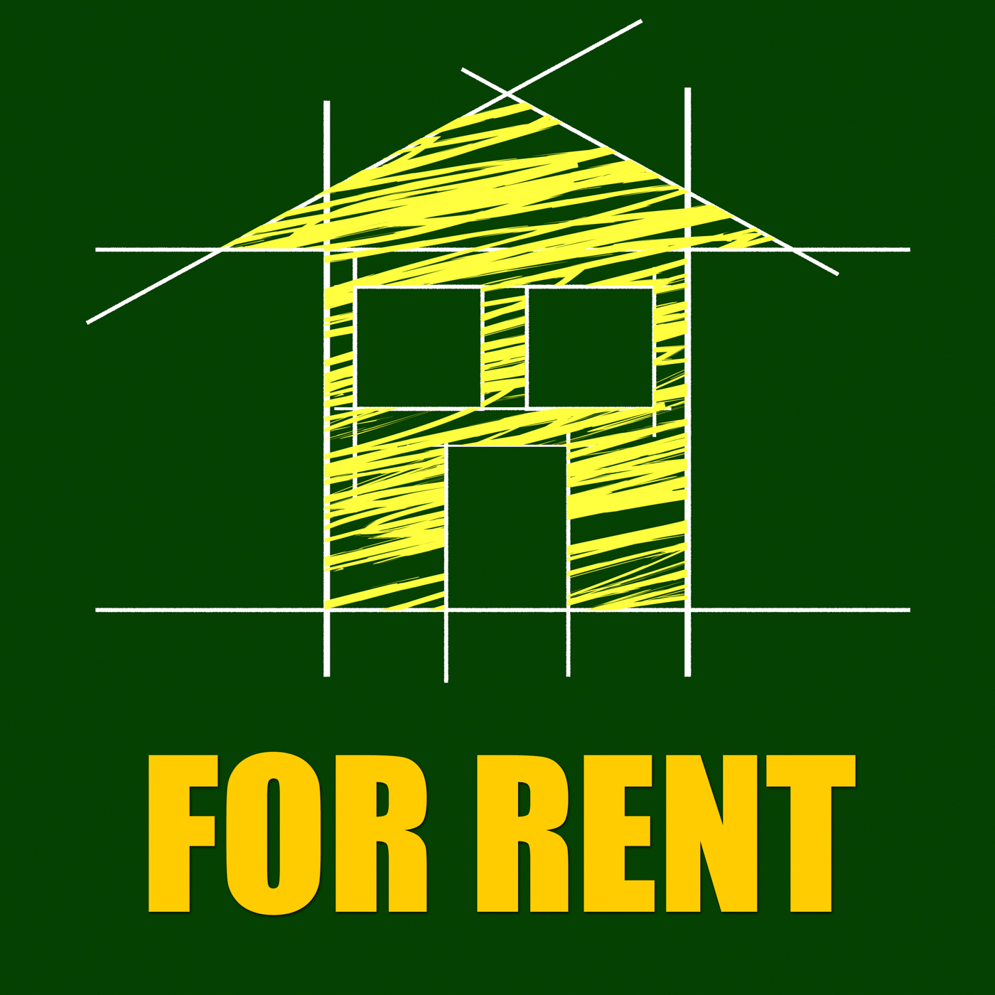 For Rent Represents Detail Architecture And Housing, Apartment, House, Scheme, Residential, HQ Photo