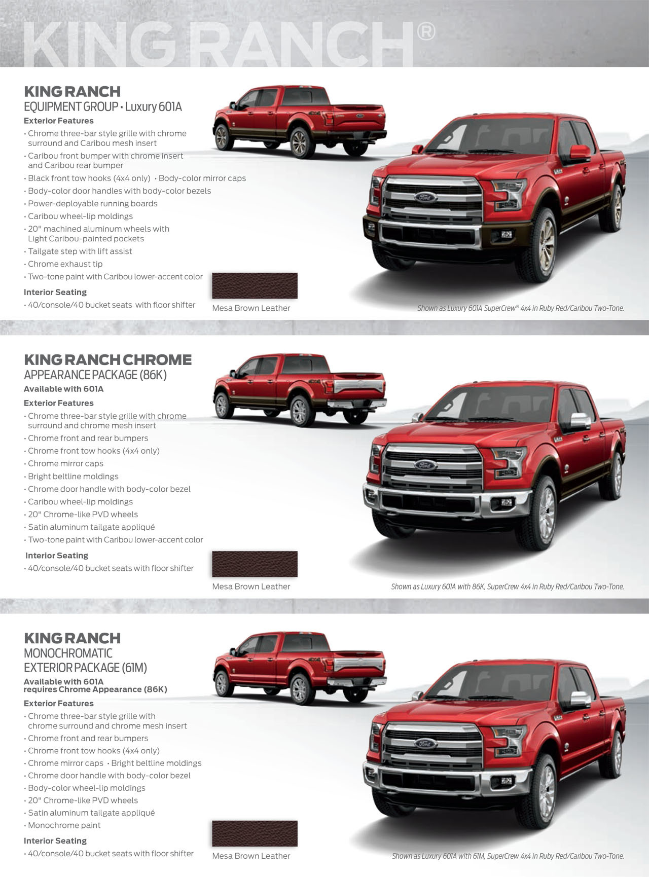 2015 Ford F-150 Shows its Styling Potential with New Appearance ...