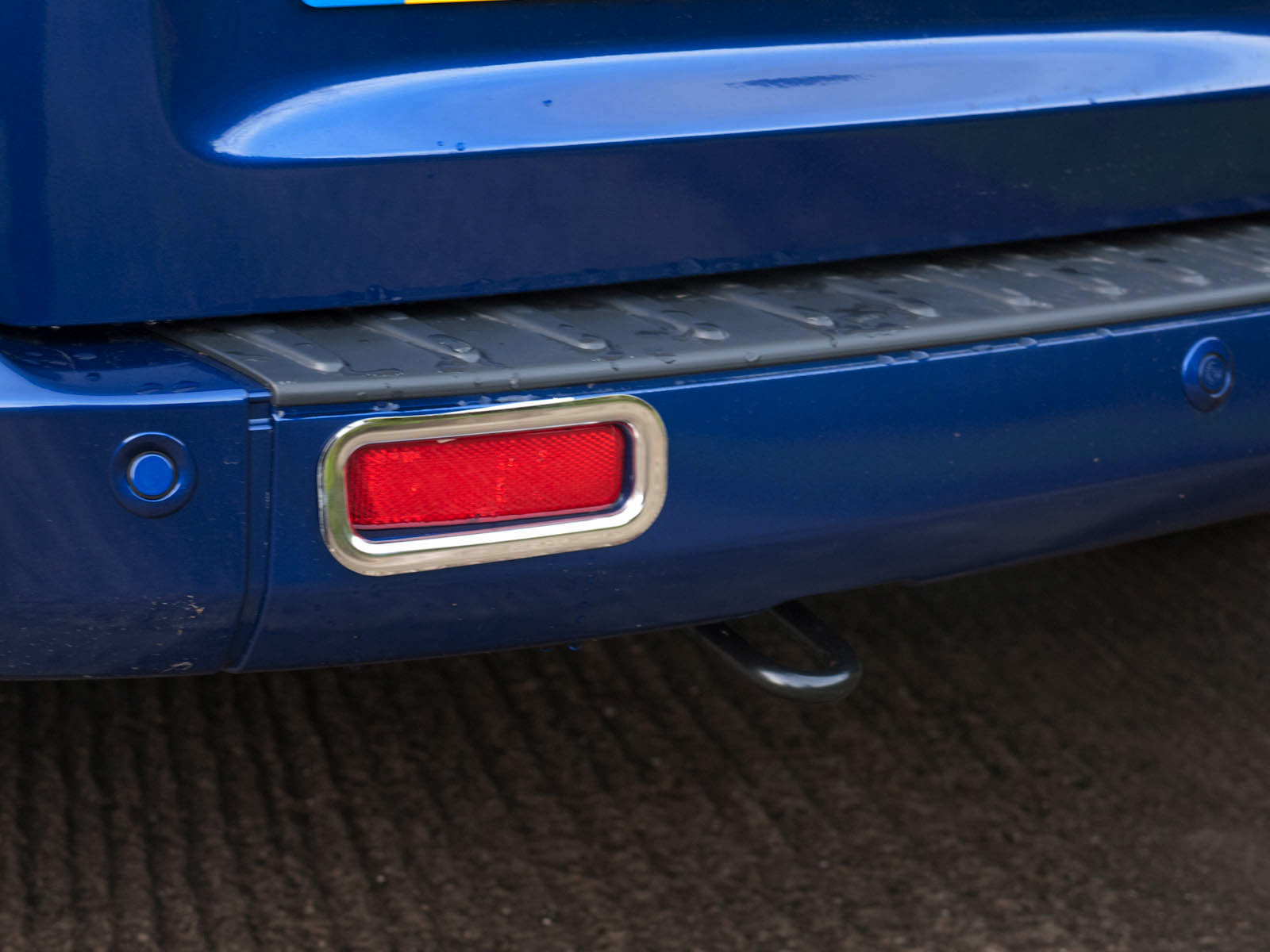 Chrome Stainless Steel Rear Fog Light Surround Covers for Ford ...
