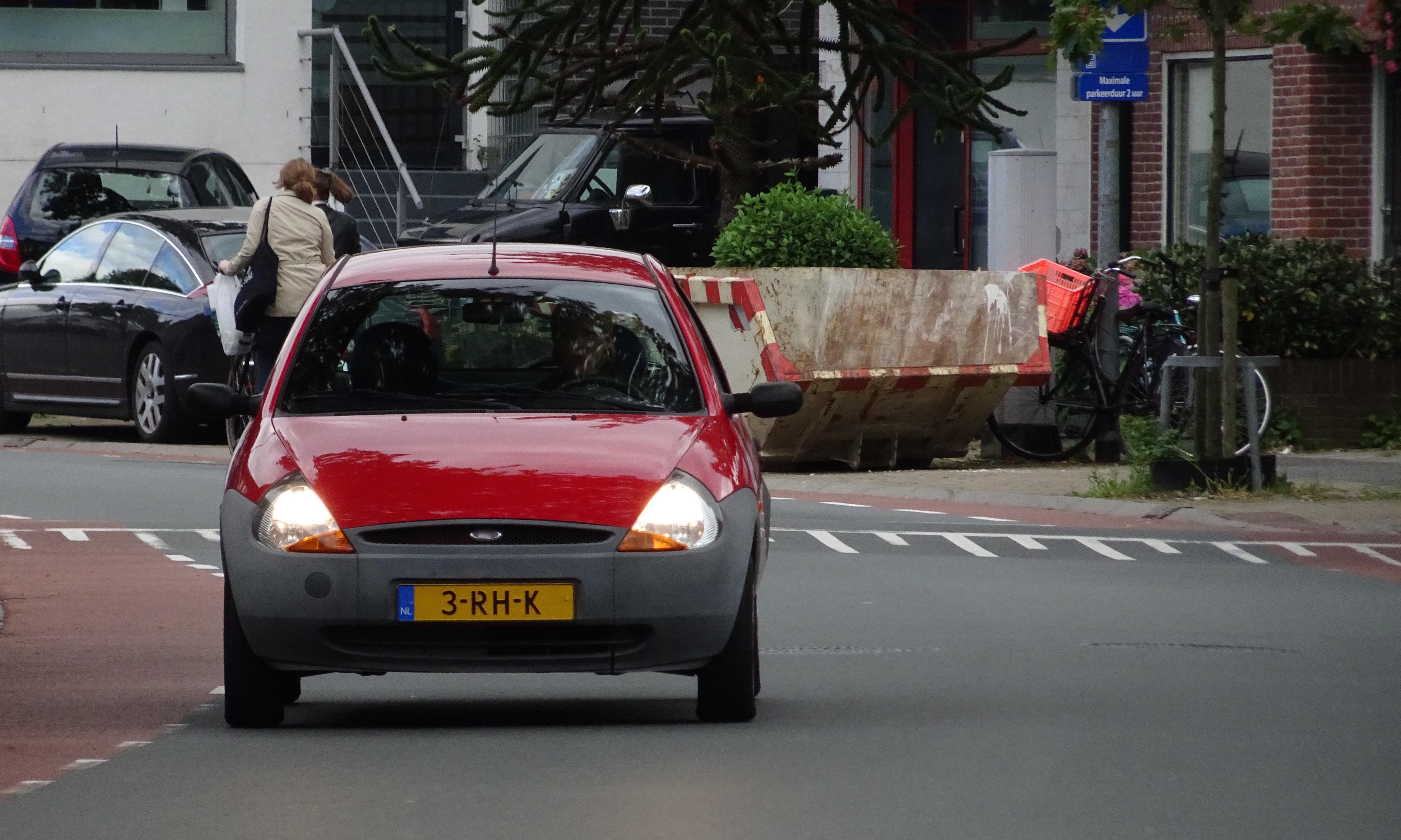 Ford ka driving photo