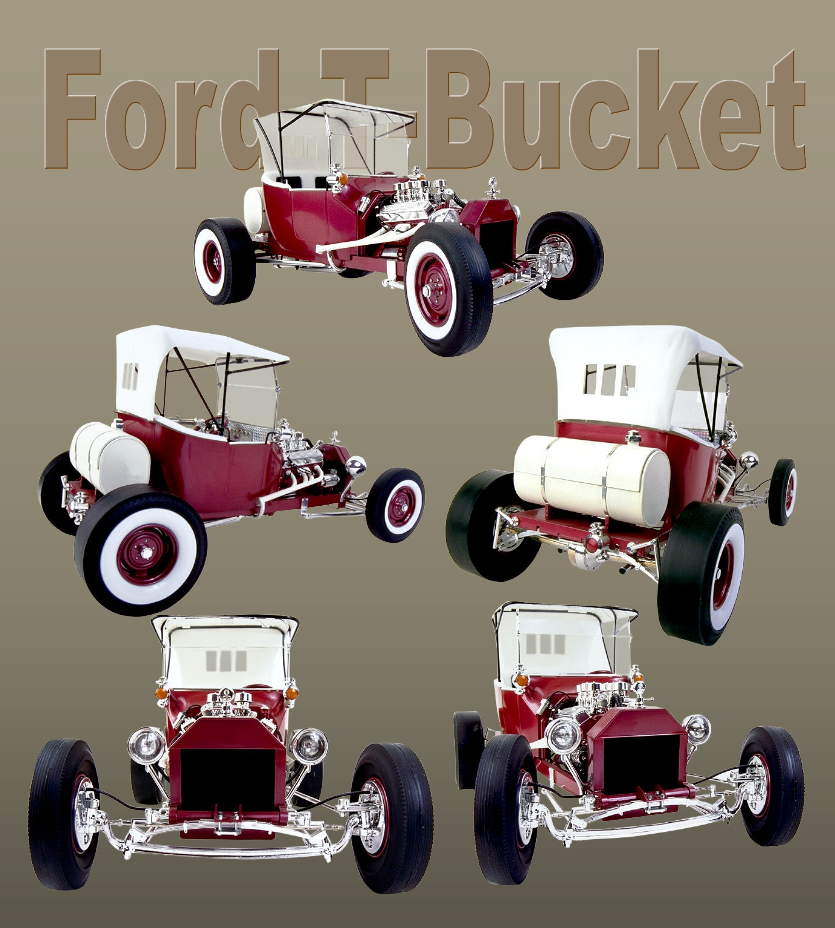 Ford t-bucket photo
