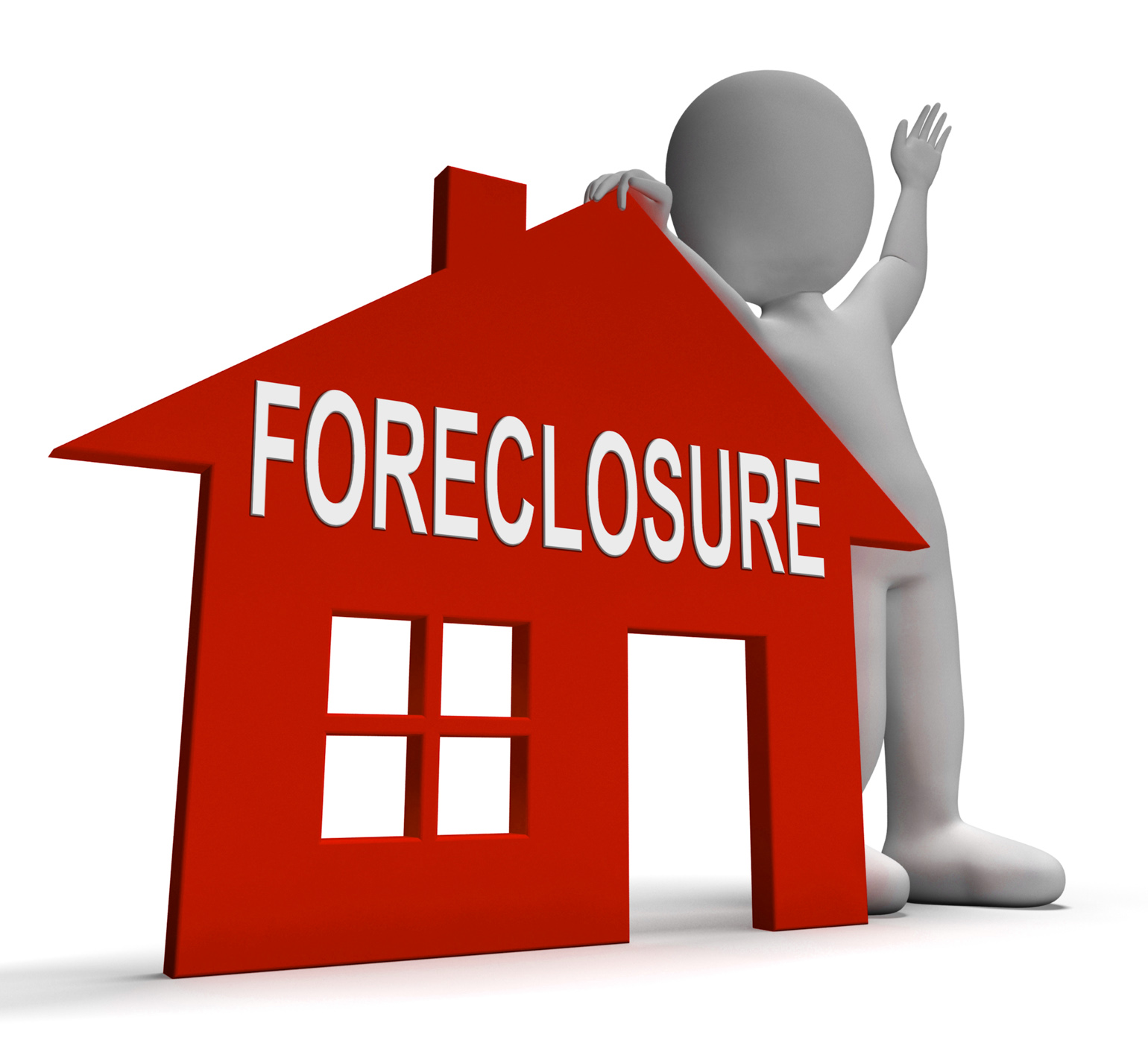 Foreclosure House Shows Repossession And Sale By Lender, House, Repossession, Repossess, Repaymentsstoppe, HQ Photo