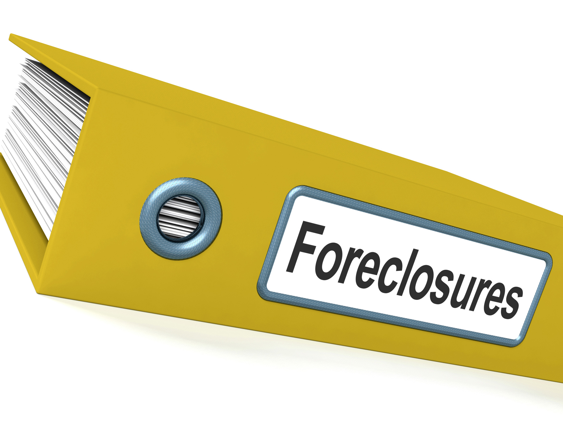 Foreclosures file shows bankruptcy and eviction photo