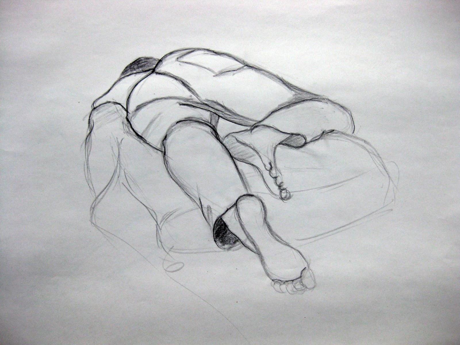 Diane Pascual : Foreshortening poses