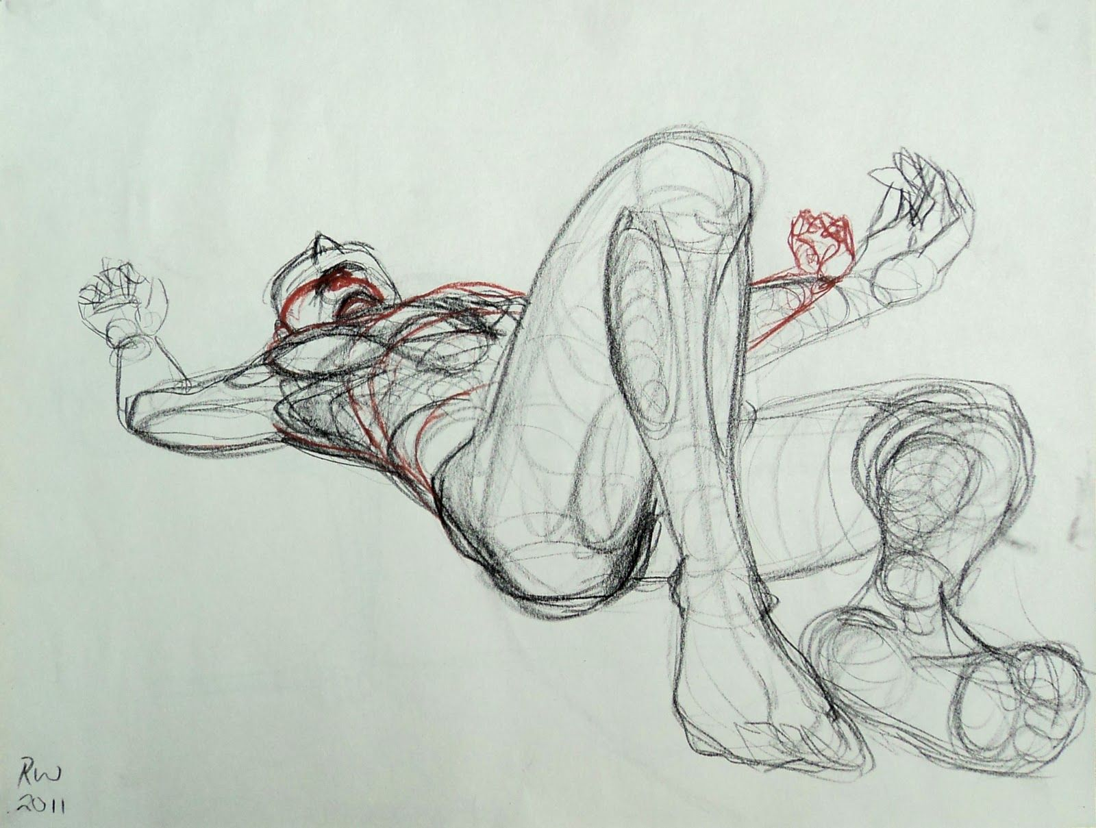 foreshortened+figure+study | Foreshortening | Pinterest | Drawings ...