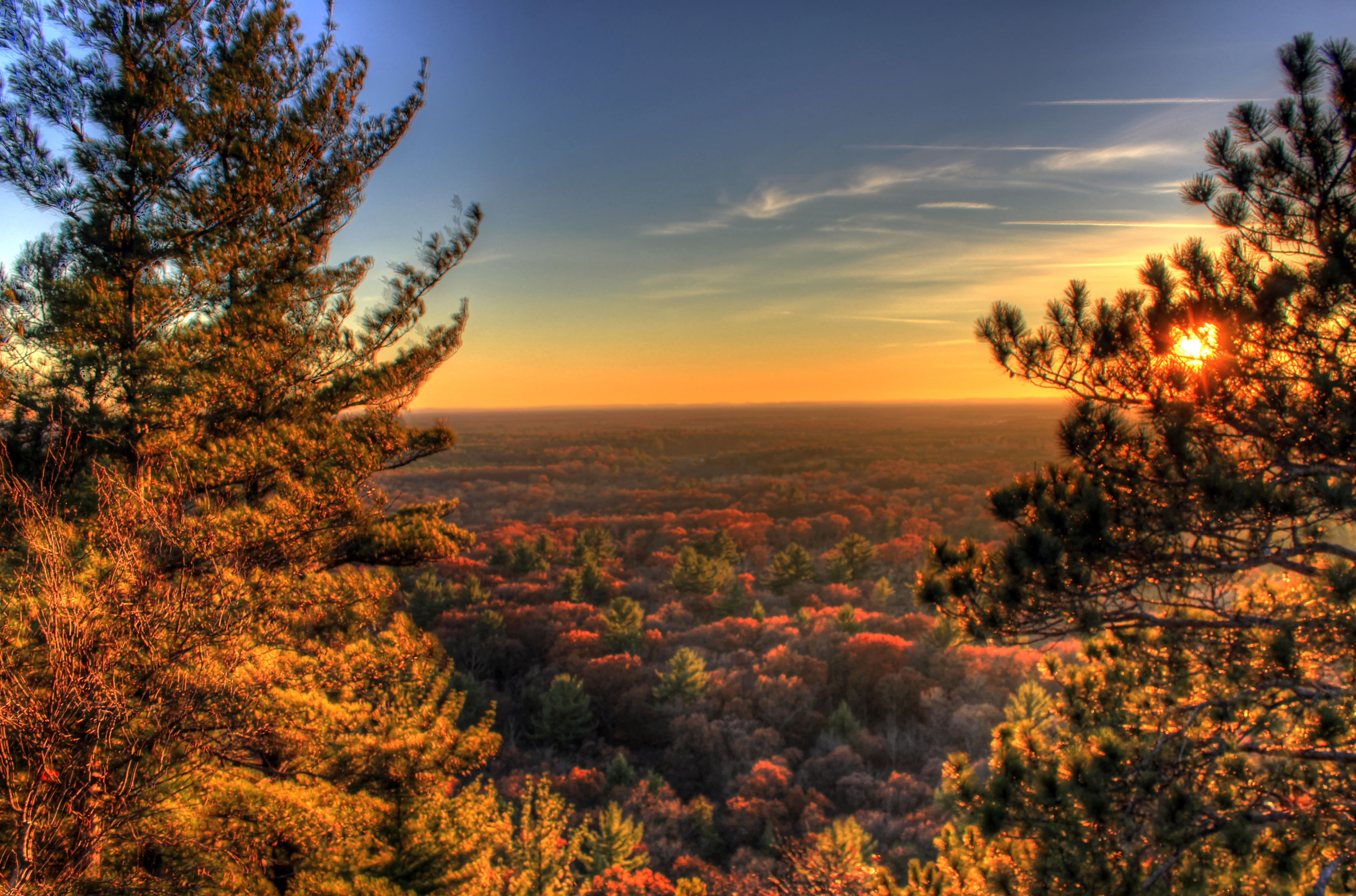 File:Gfp-wisconsin-roche-a-cri-forest-at-sunset.jpg - Wikimedia Commons
