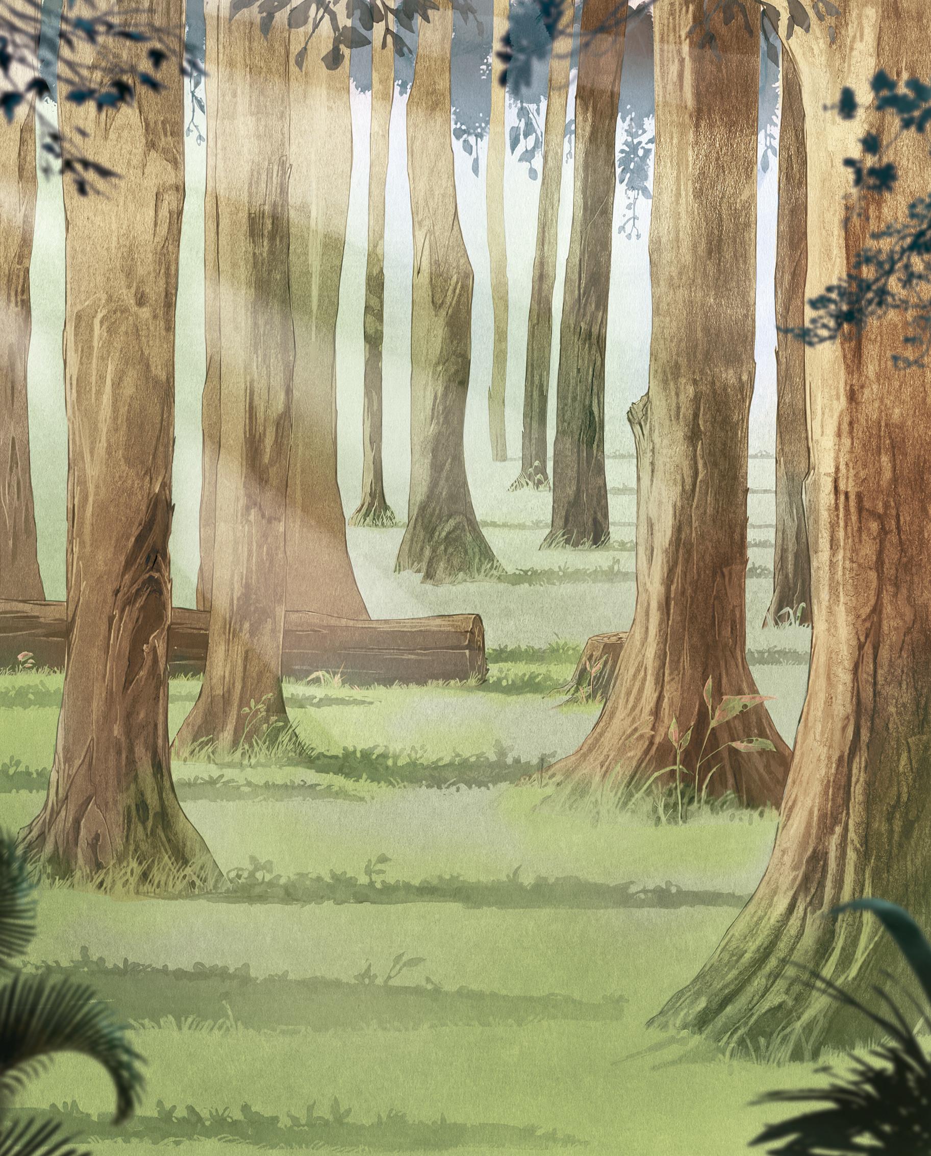 ArtStation - Forest - Illustration, Carlos Caminha