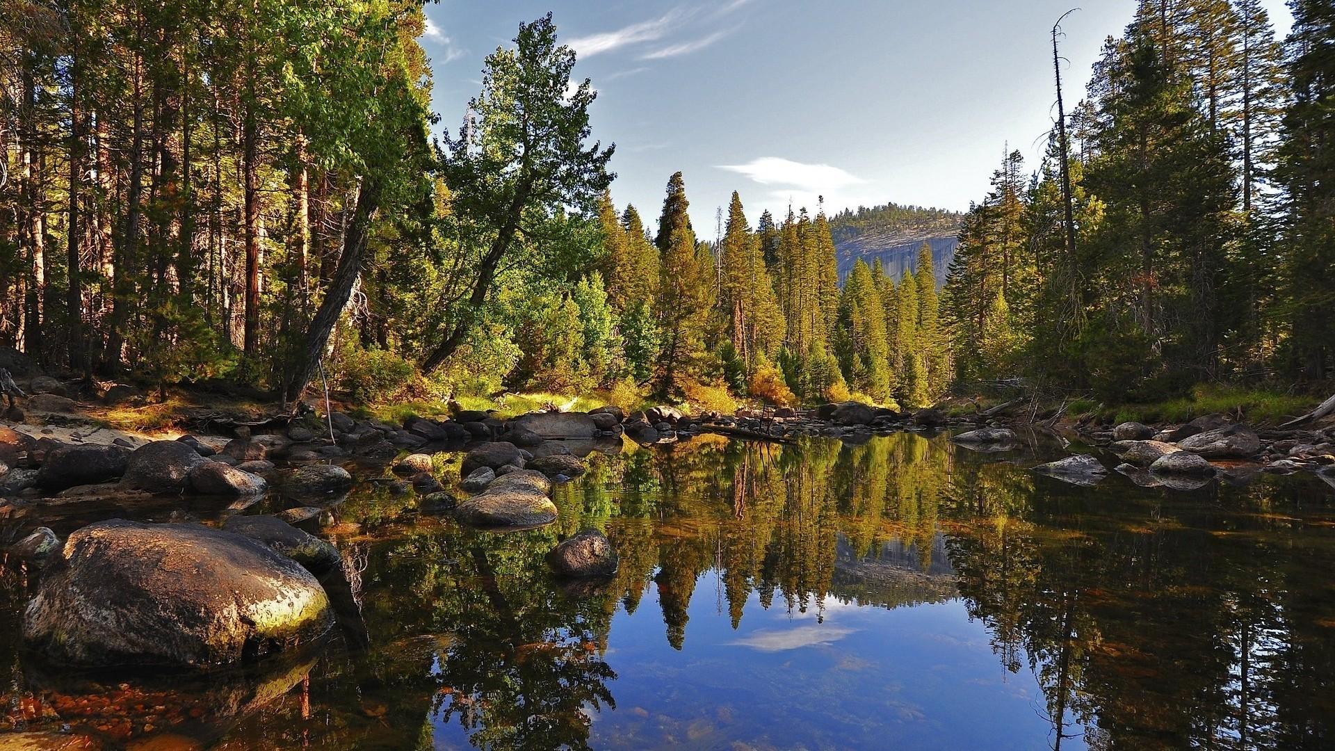 Image - Forest-Lake-HD-Desktop-Wallpaper.jpg | Marvel Universe Role ...