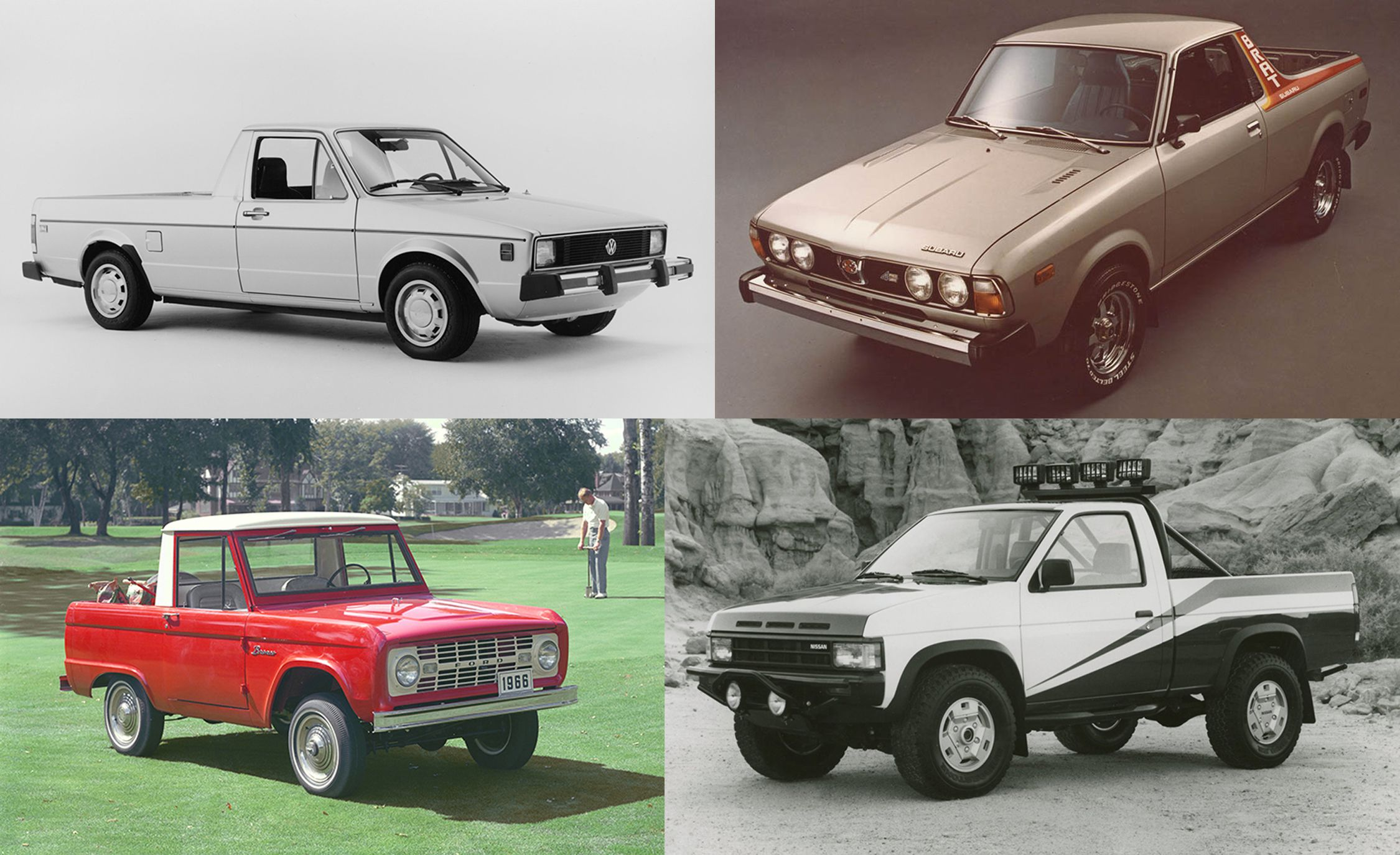 Put to Bed: These Are the Forgotten Pickup Trucks, Volume I ...