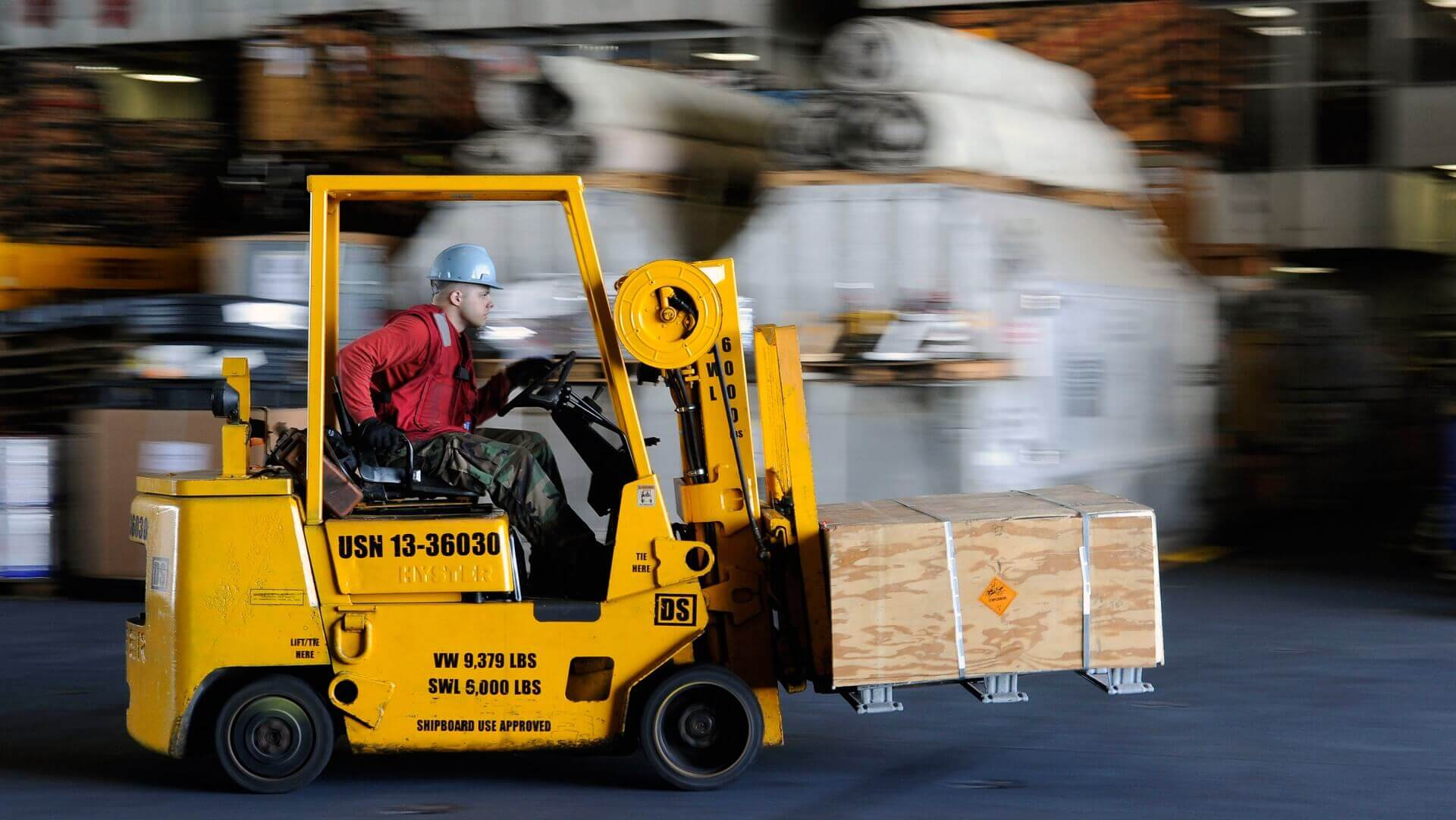 How your Layout can reduce forklift accidents