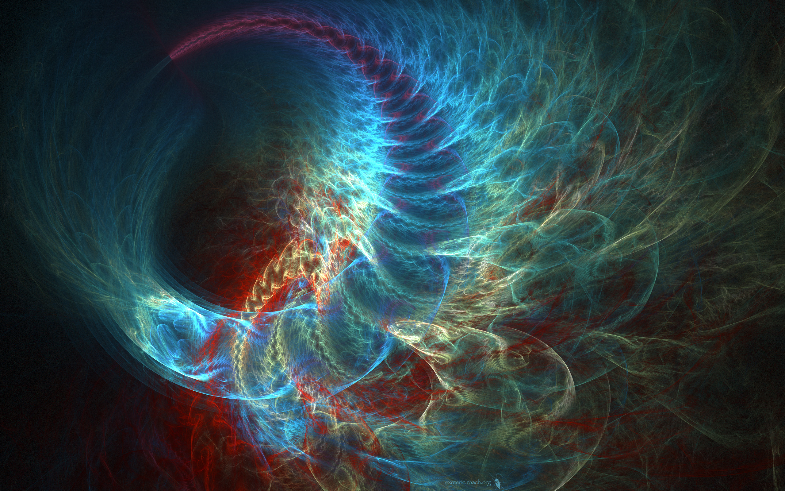 2044 Fractal HD Wallpapers | Background Images - Wallpaper Abyss