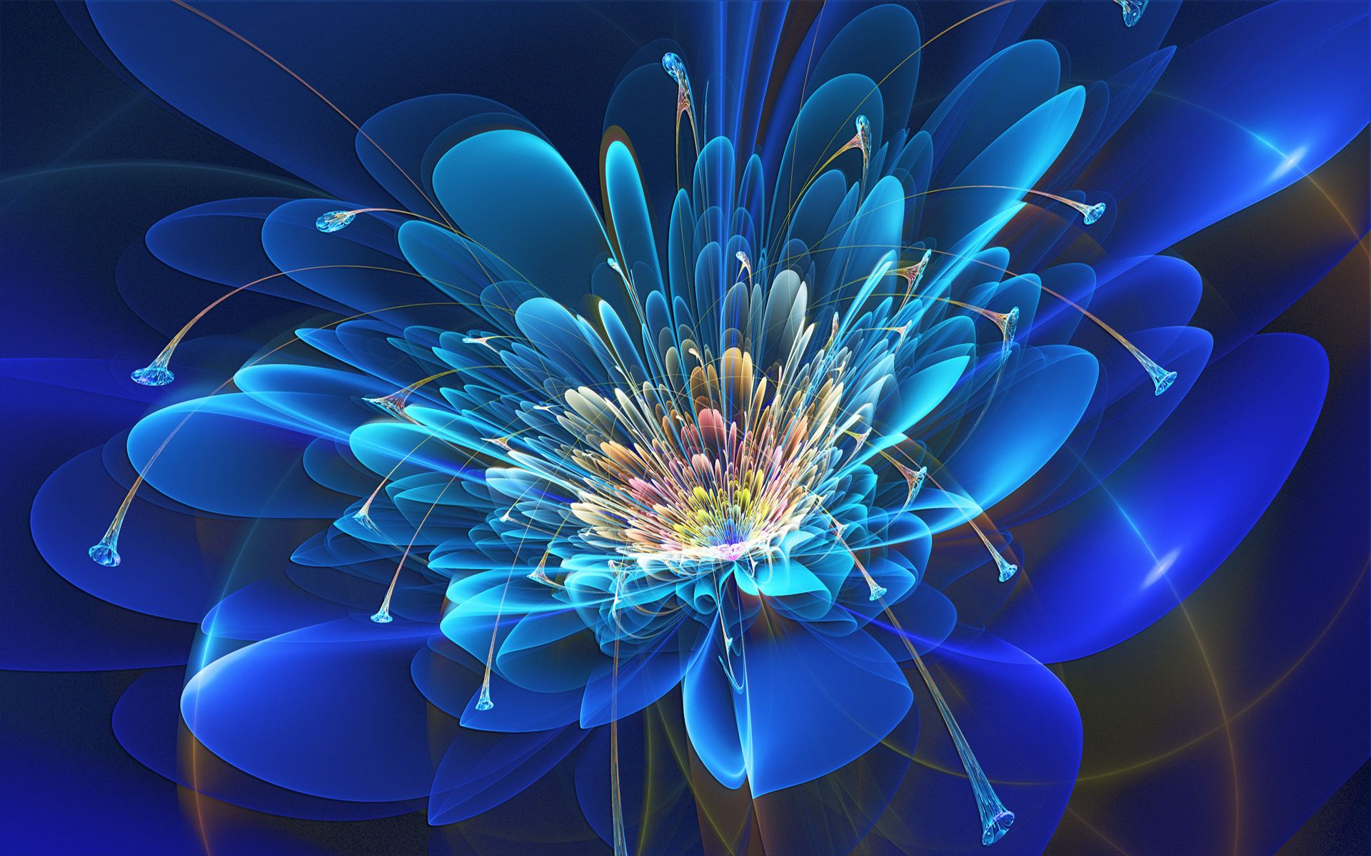 3D Fractal Flowers | download favourite share | ♢Fractal Flowers ...