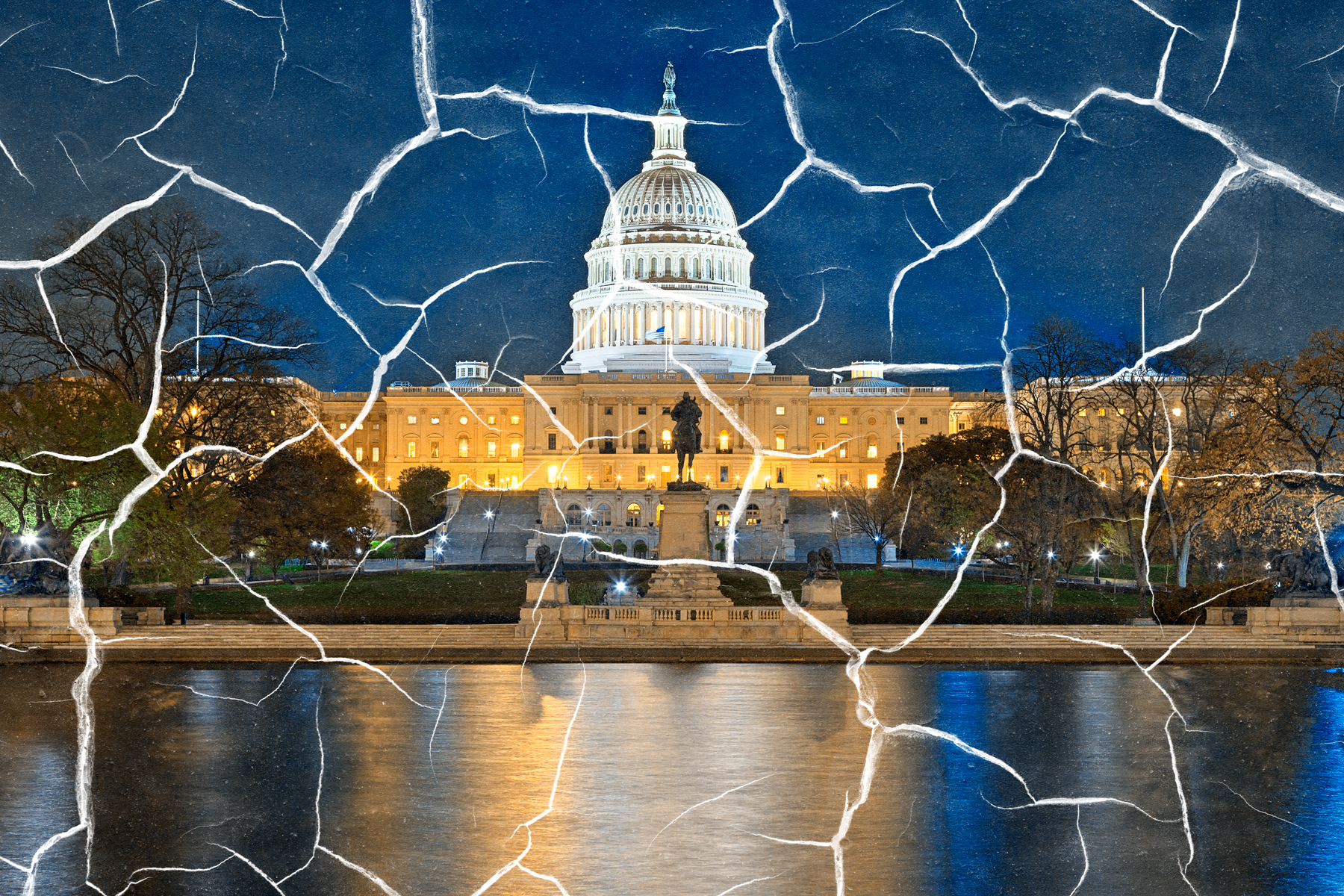 Fractured Congress, Abstract, Outdoors, Scenic, Scenery, HQ Photo