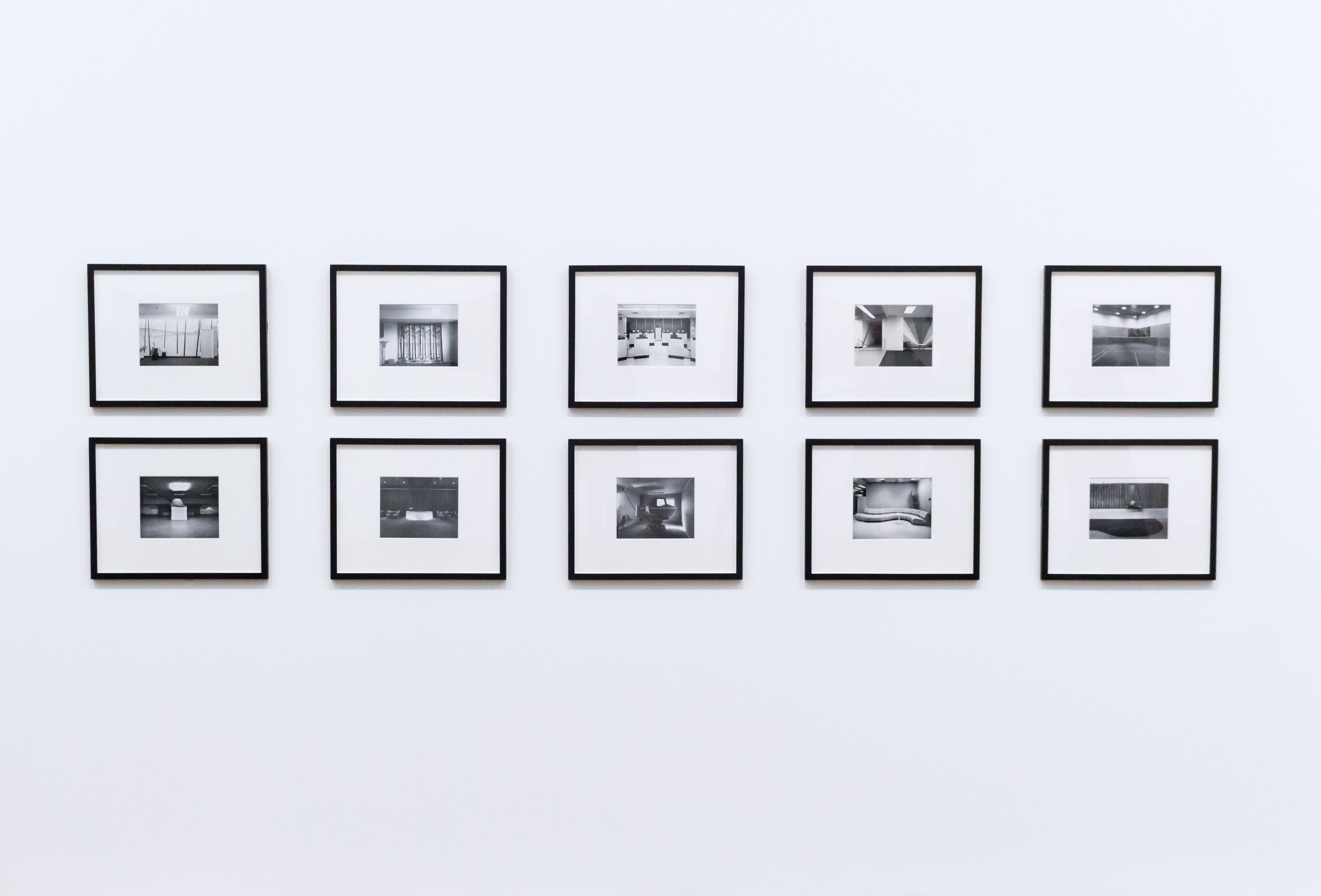Frames On White Background Paper Picture Frame Modern Interior Decoration Hq