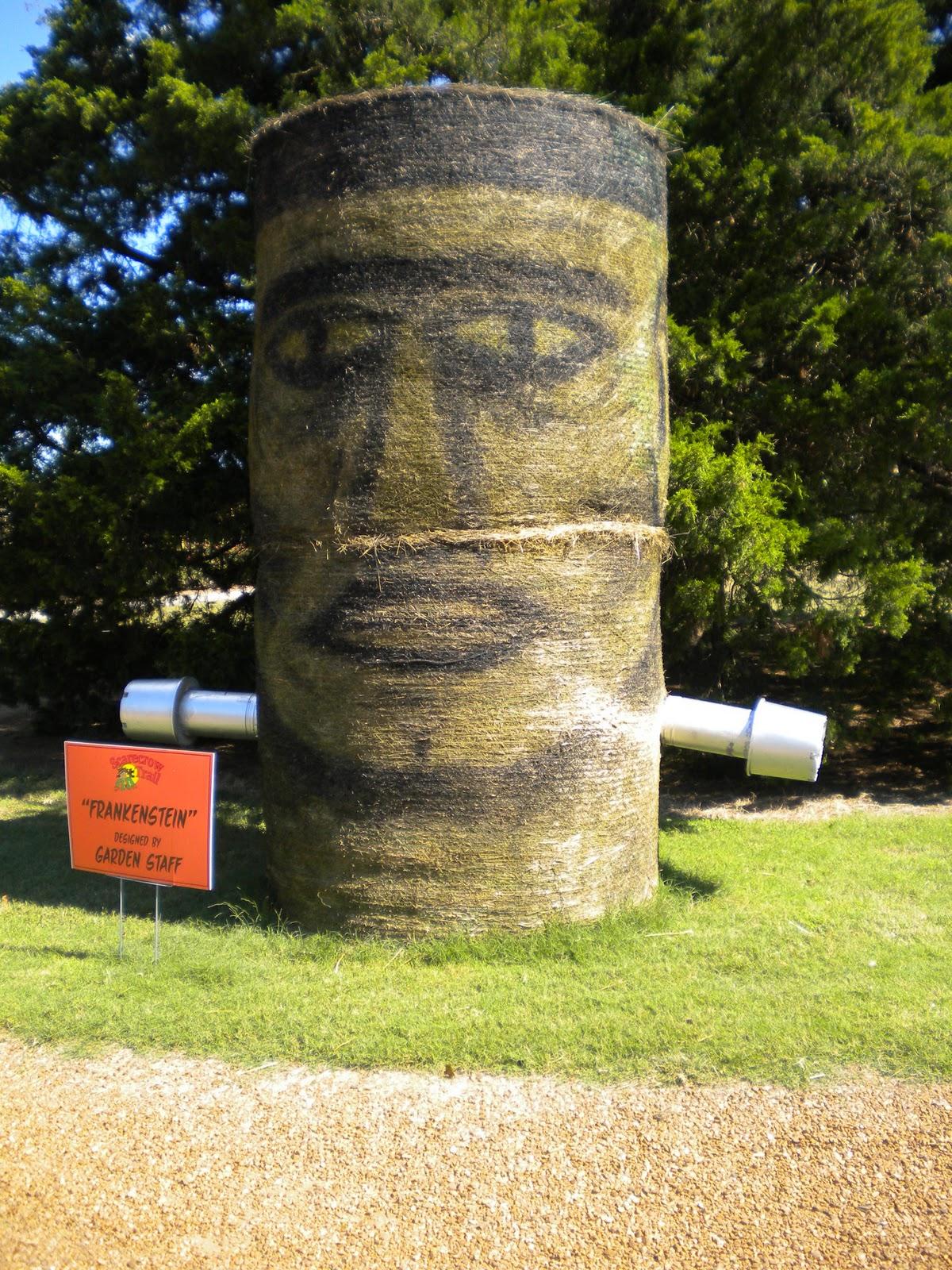 Jean's Crafty Corner: Botanical Gardens Scarecrow Trail