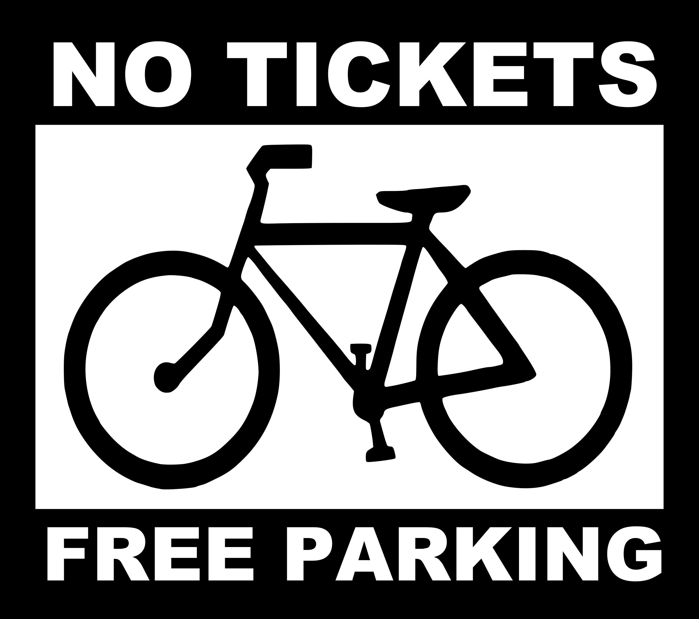 Free parking photo