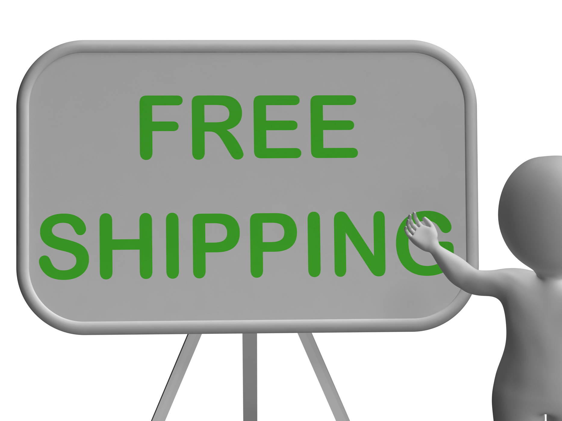 Free Shipping Whiteboard Shows Item Shipped At No Cost, Postageincluded, Postageandpackin, Post, Product, HQ Photo