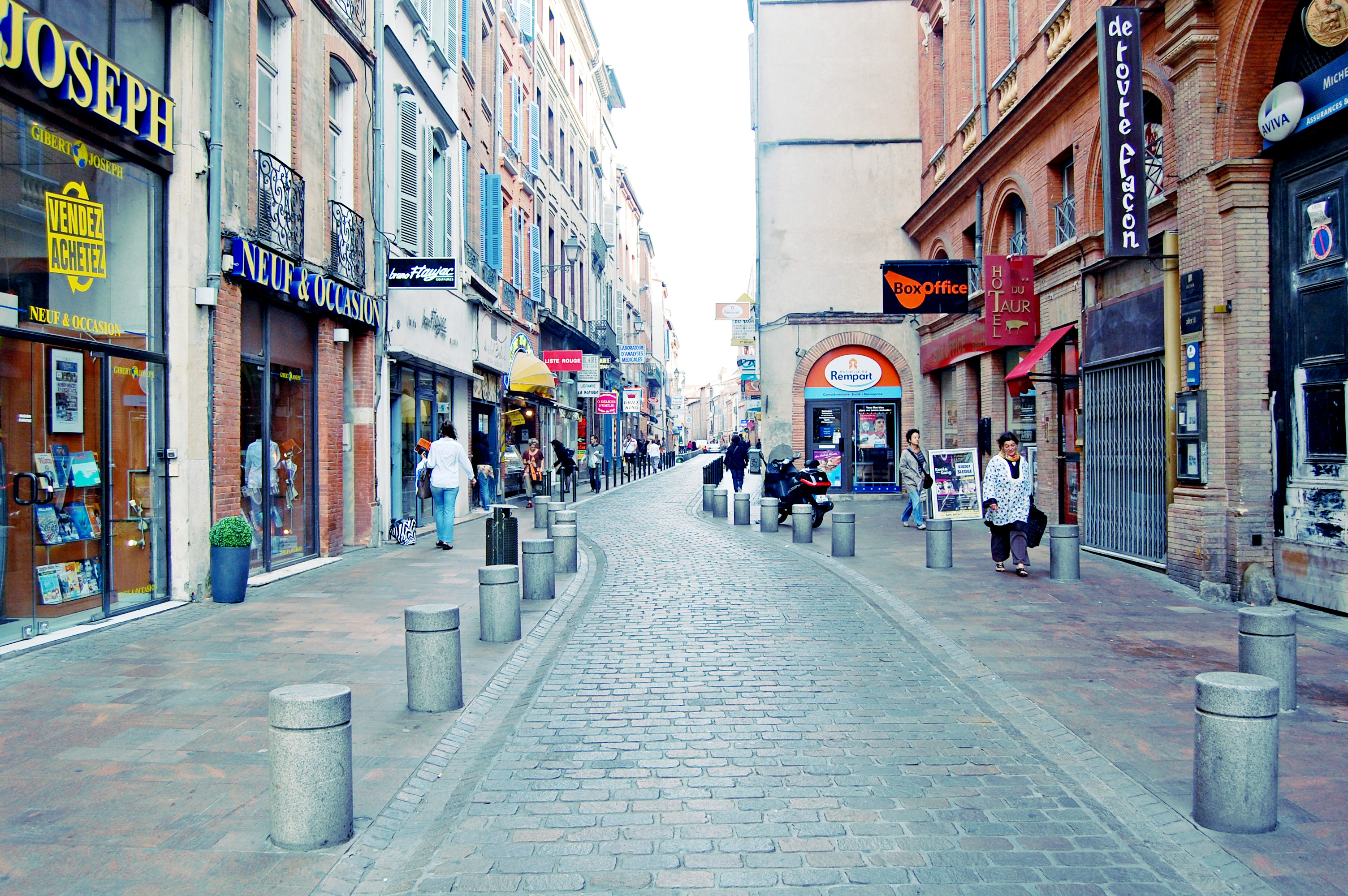 French city photo