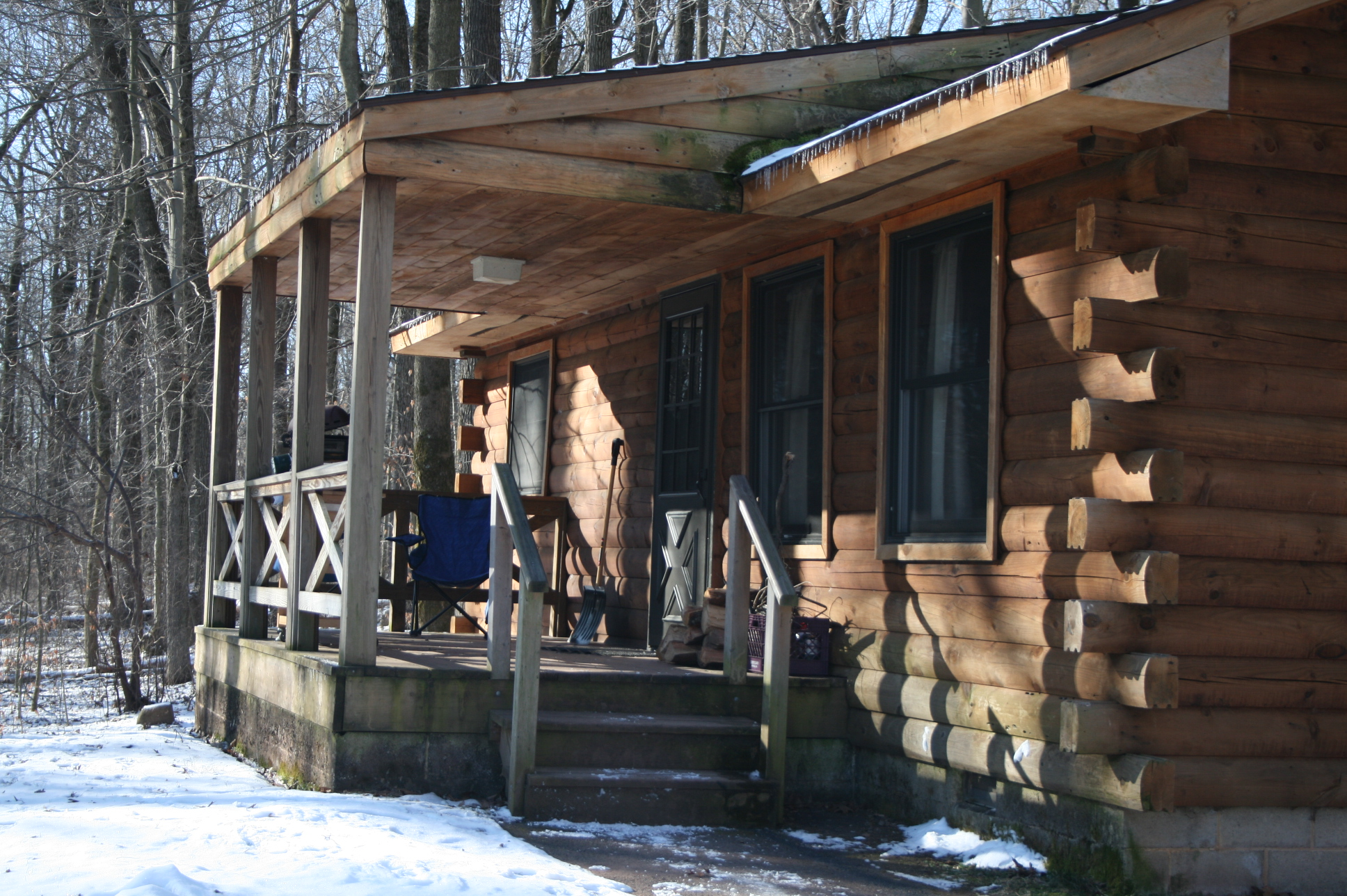 Free Photo French Creek State Park Cabins Shack Outdoors