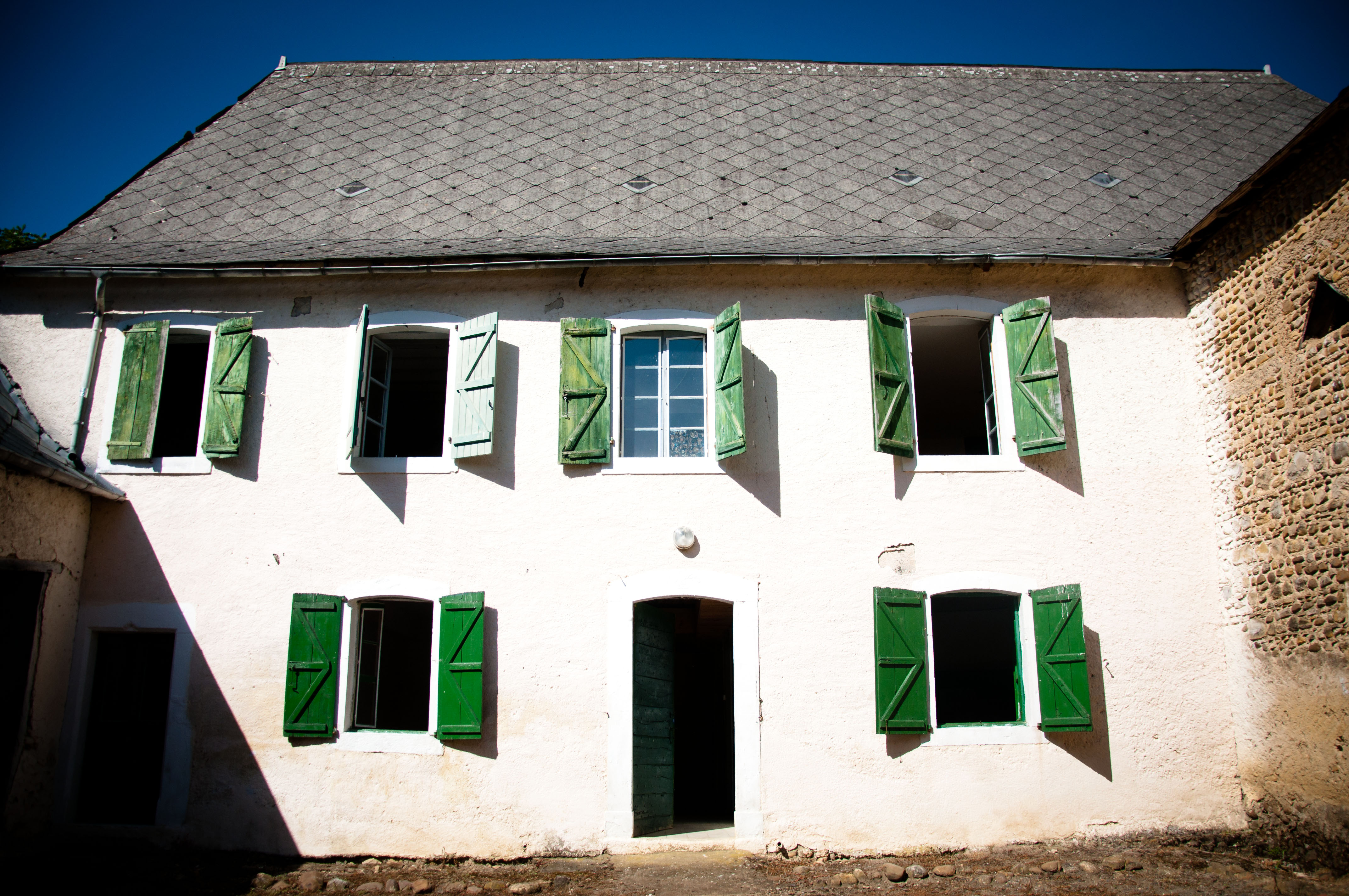 French house, Ancient, Summer, Roof, Rural, HQ Photo