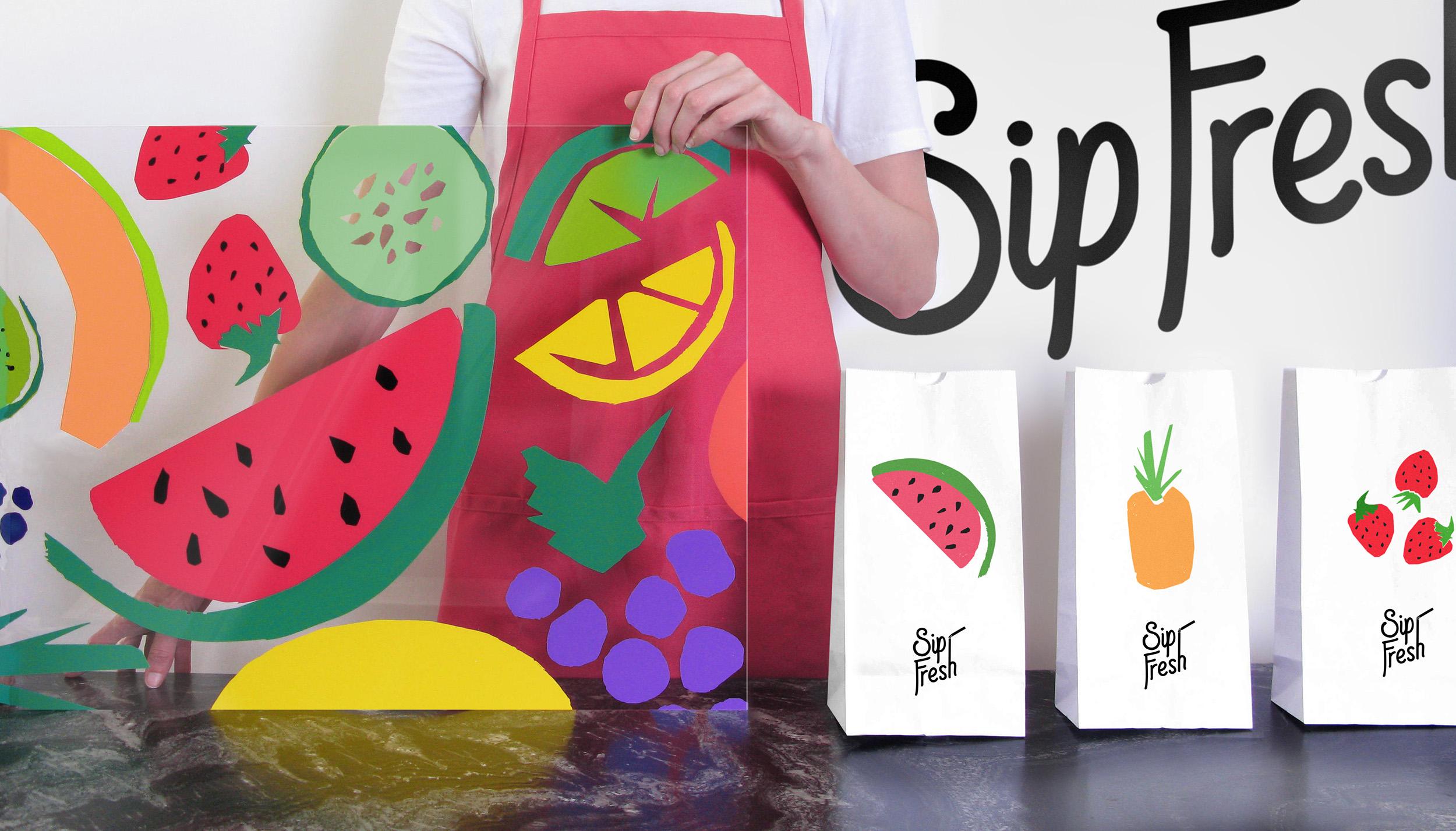 Sip Fresh   Scissor Studio