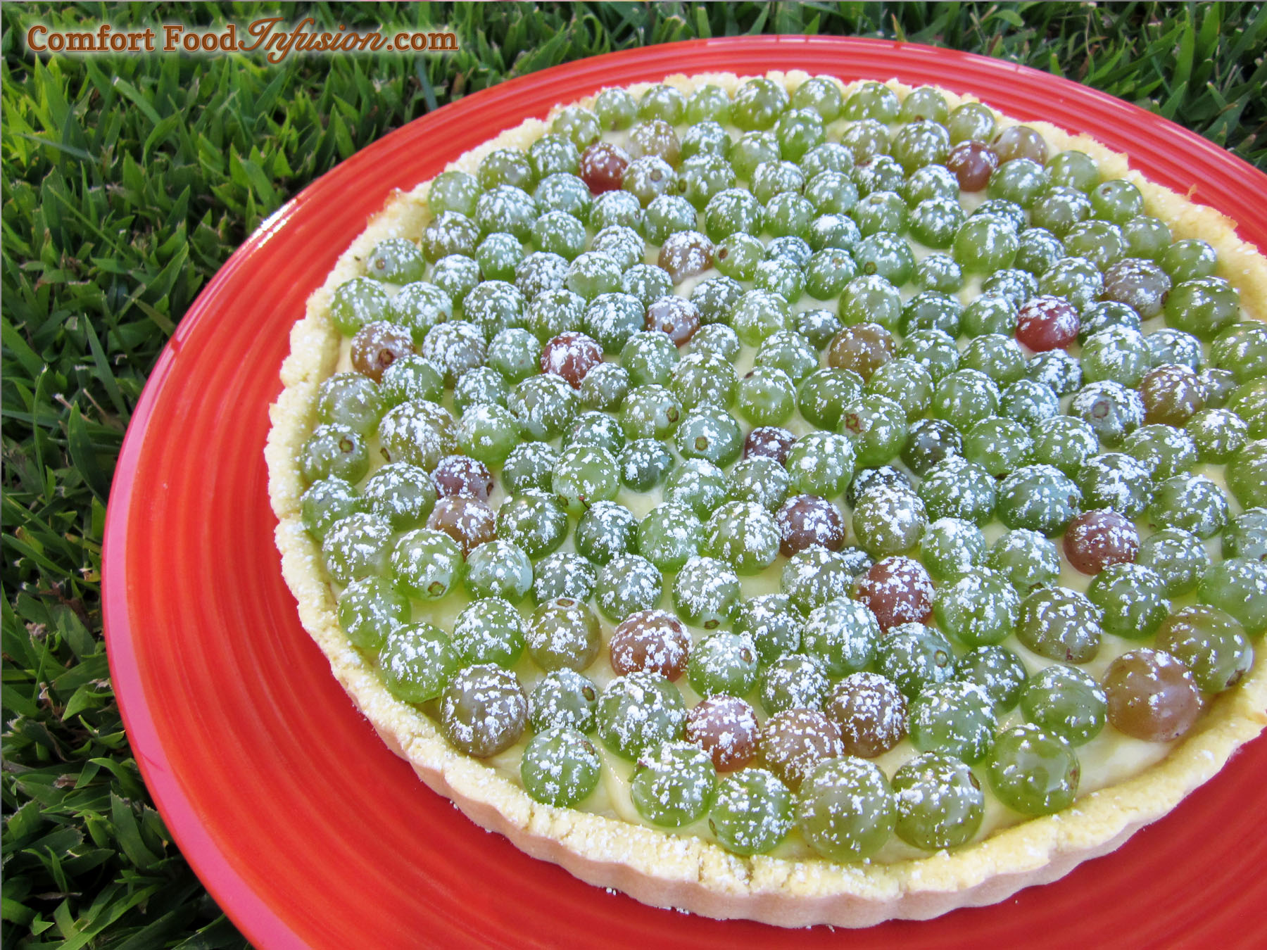 Fresh Fruit Tart - Comfort Food Infusion
