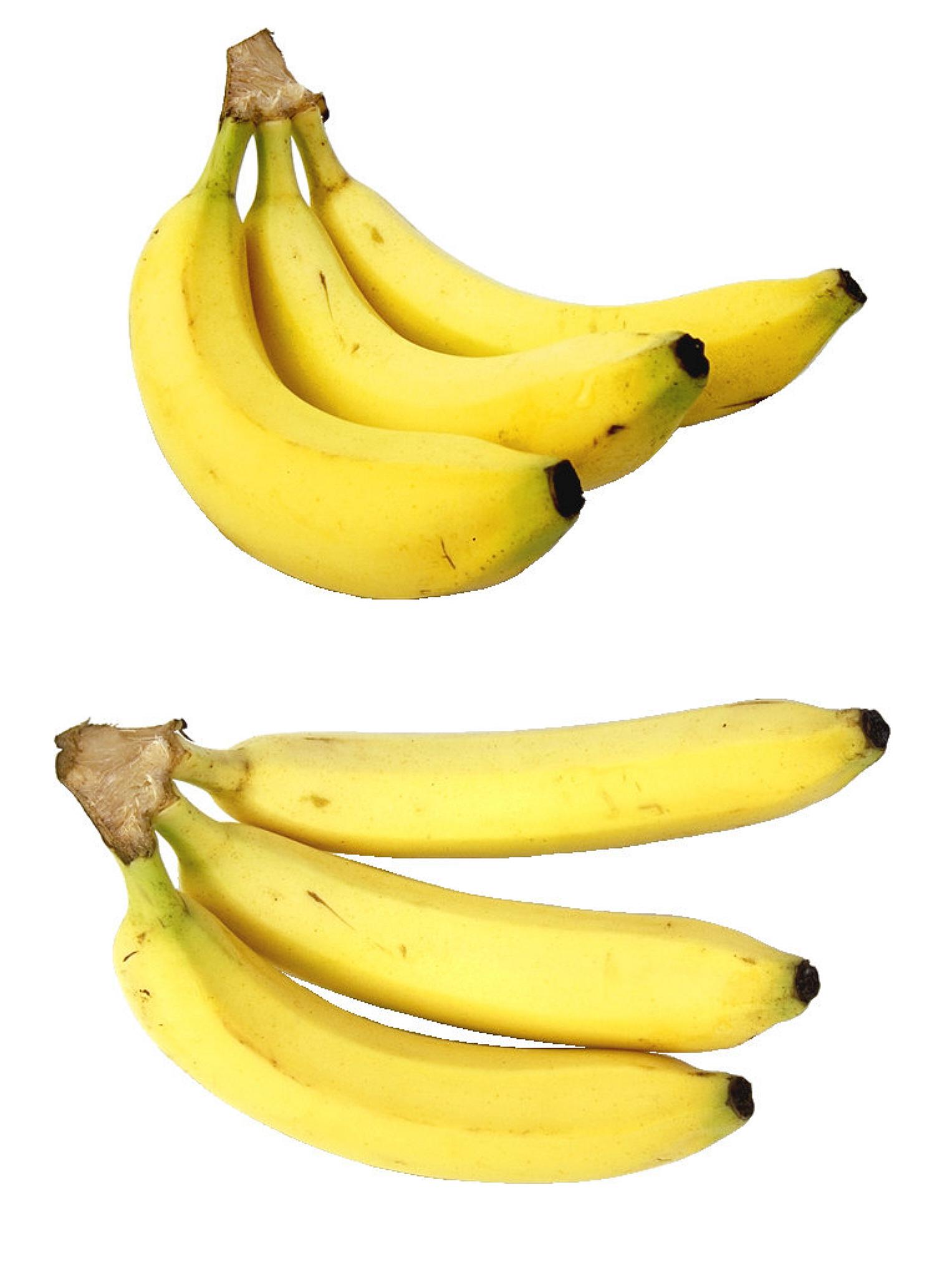 Fresh bananas photo