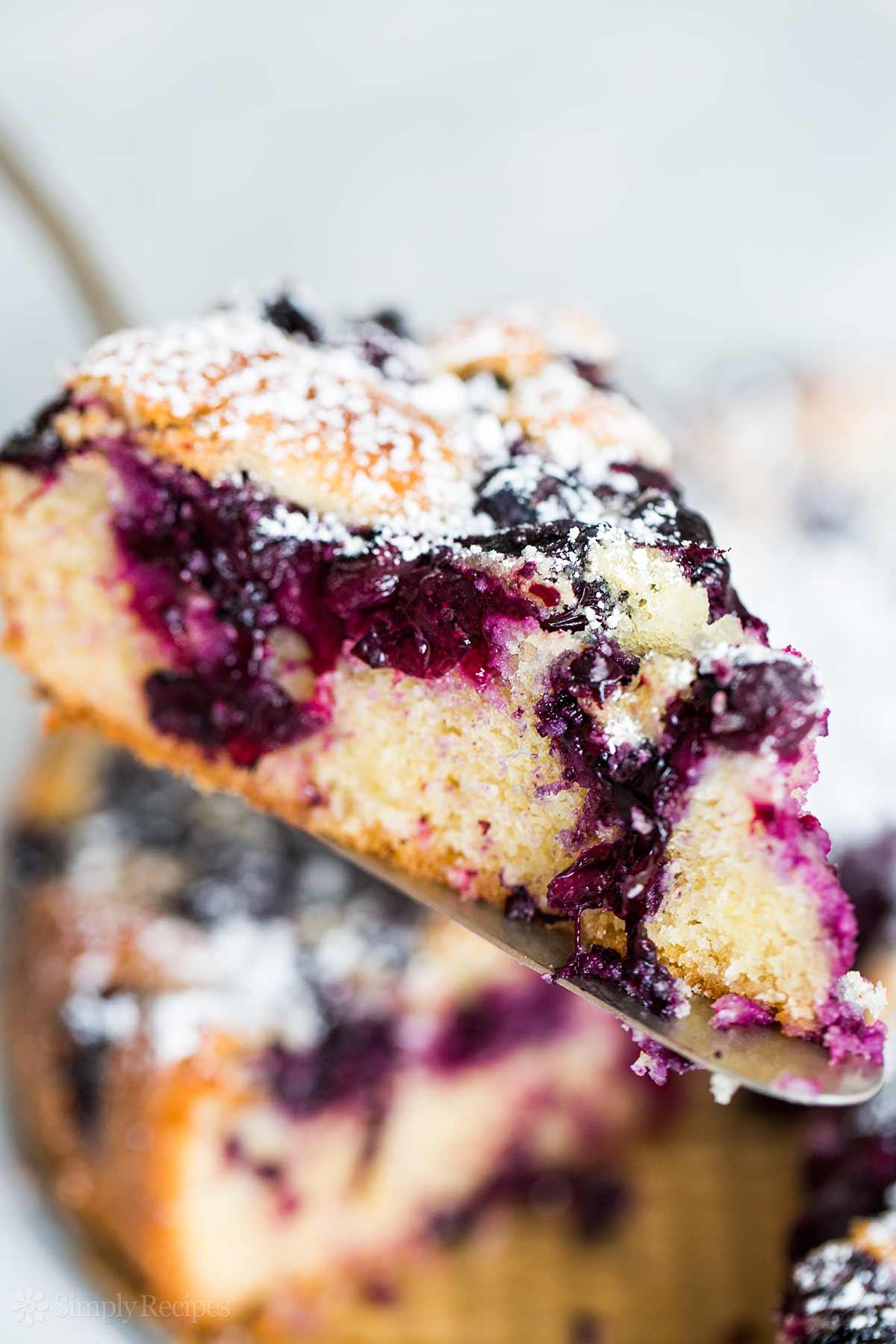 Blueberry Cake Recipe | SimplyRecipes.com