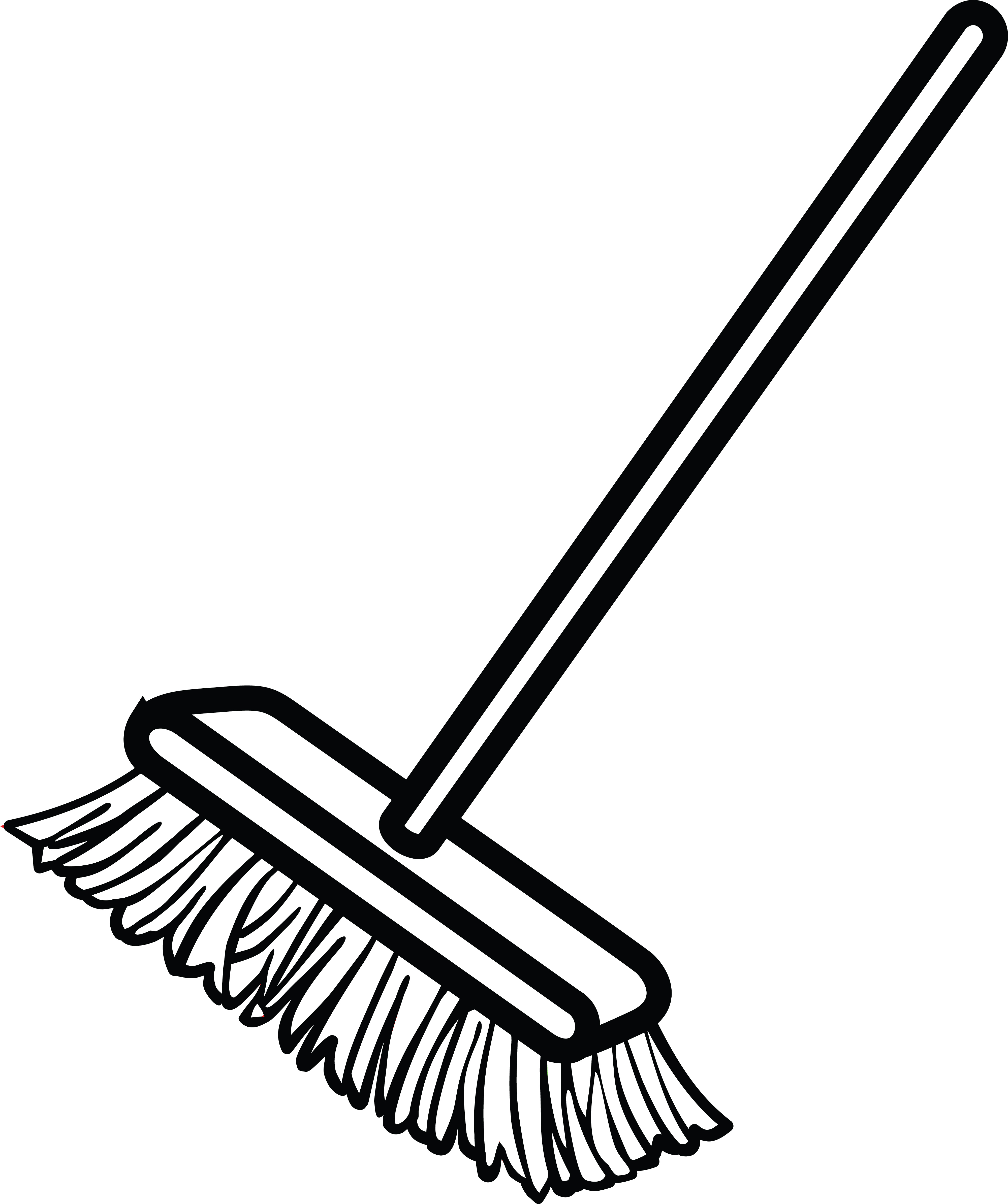 Fresh Broom Clipart Of A Shop - cilpart