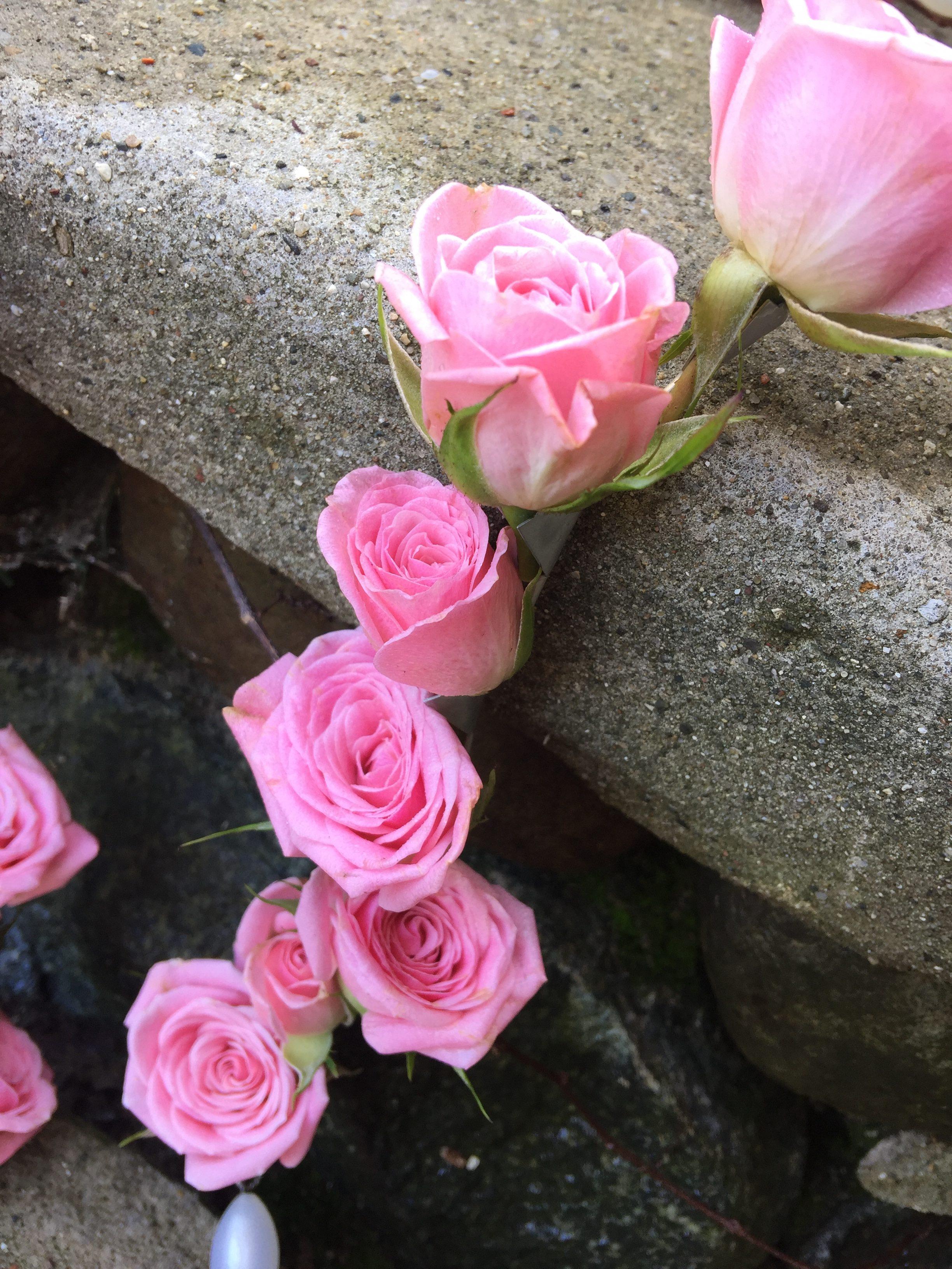 Fresh Flower Rosary - B/A Florist of East Lansing, MI