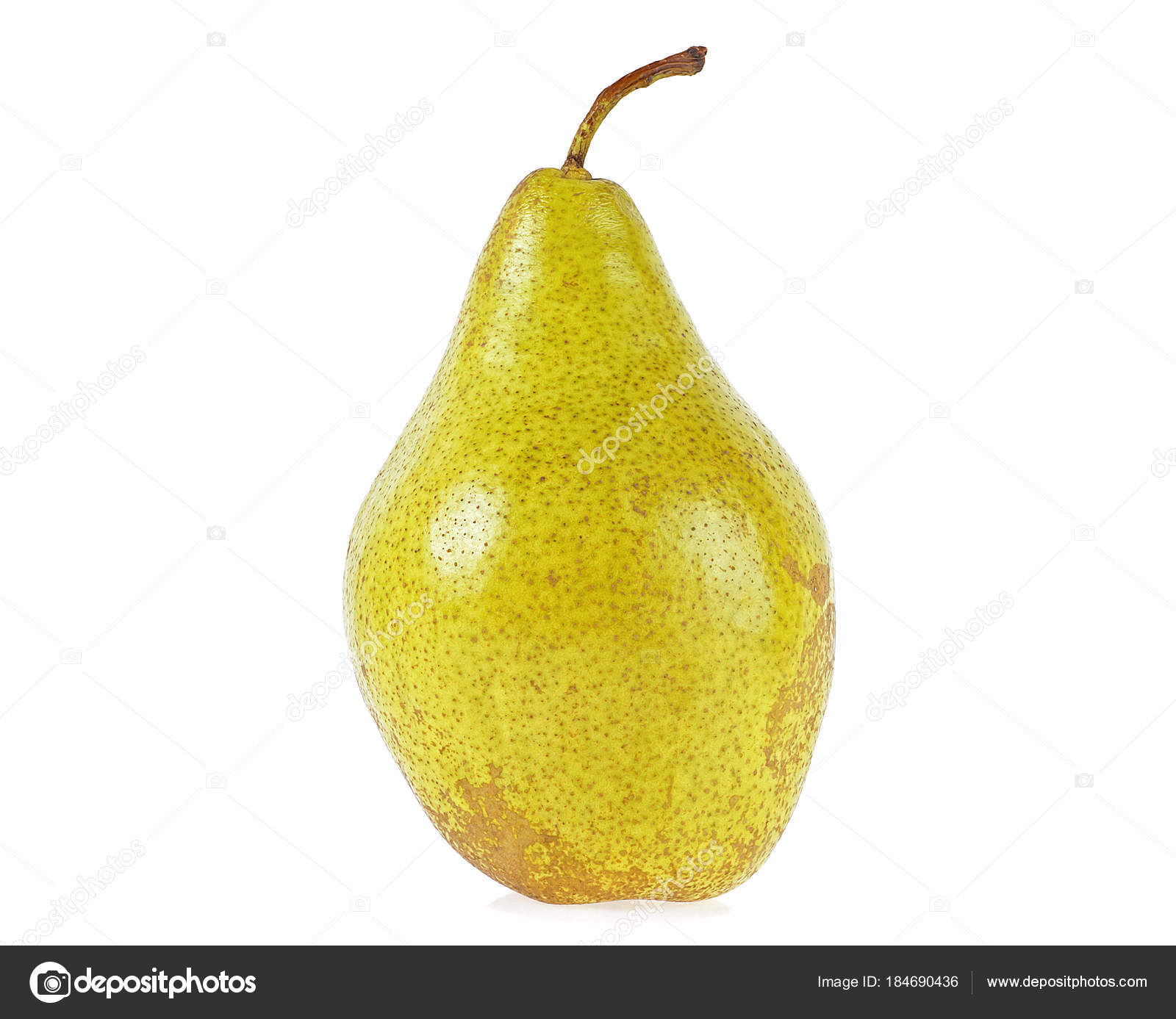 Fresh pear isolated on a white background — Stock Photo © domnitsky ...