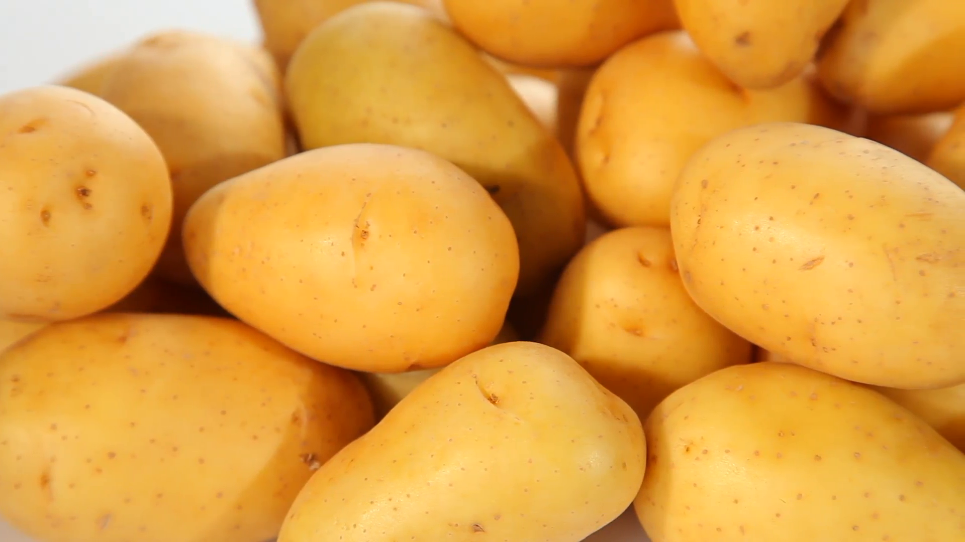 Fresh potatoes background Stock Video Footage - Videoblocks