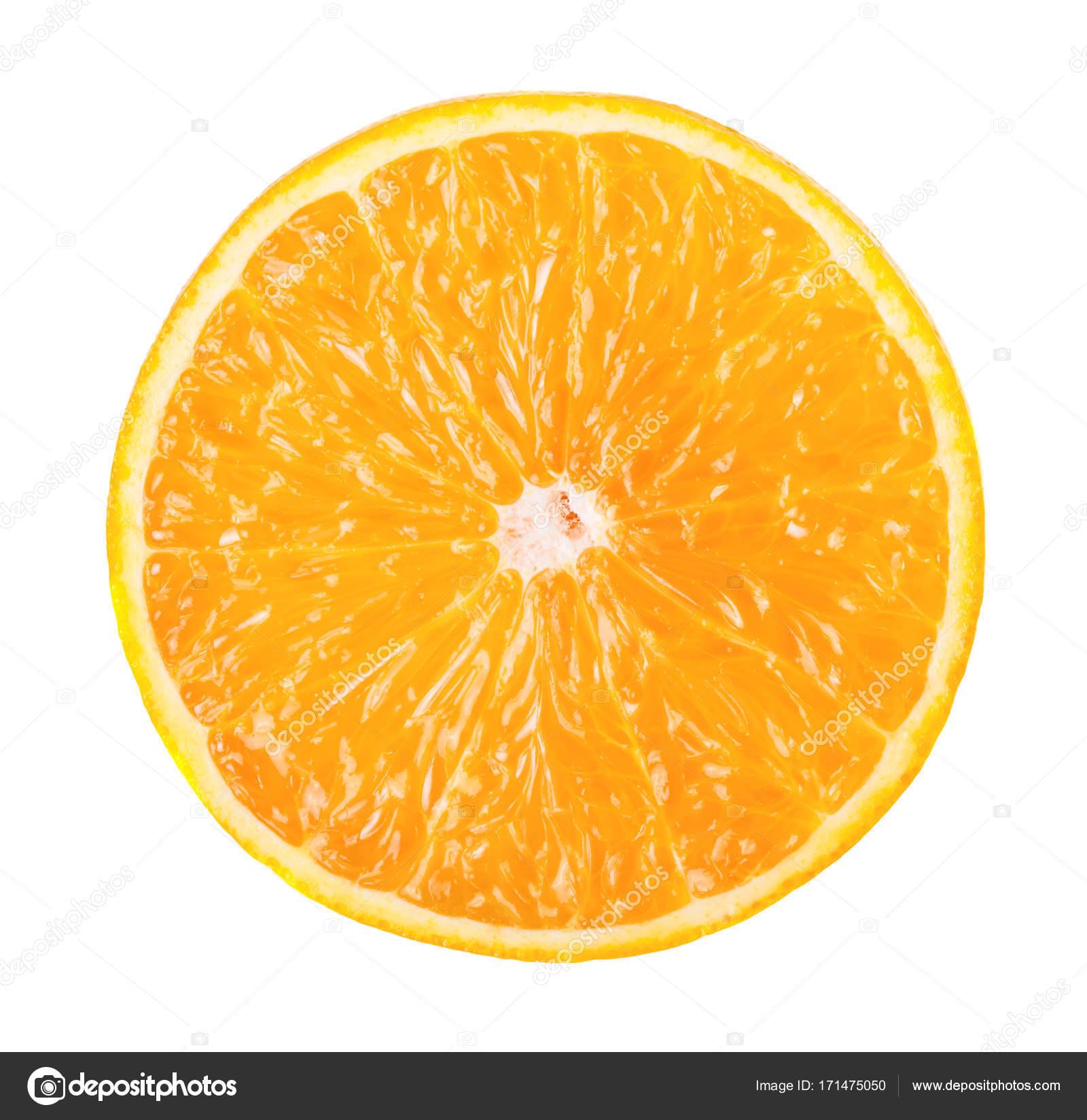 Fresh ripe orange slice — Stock Photo © Valengilda #171475050