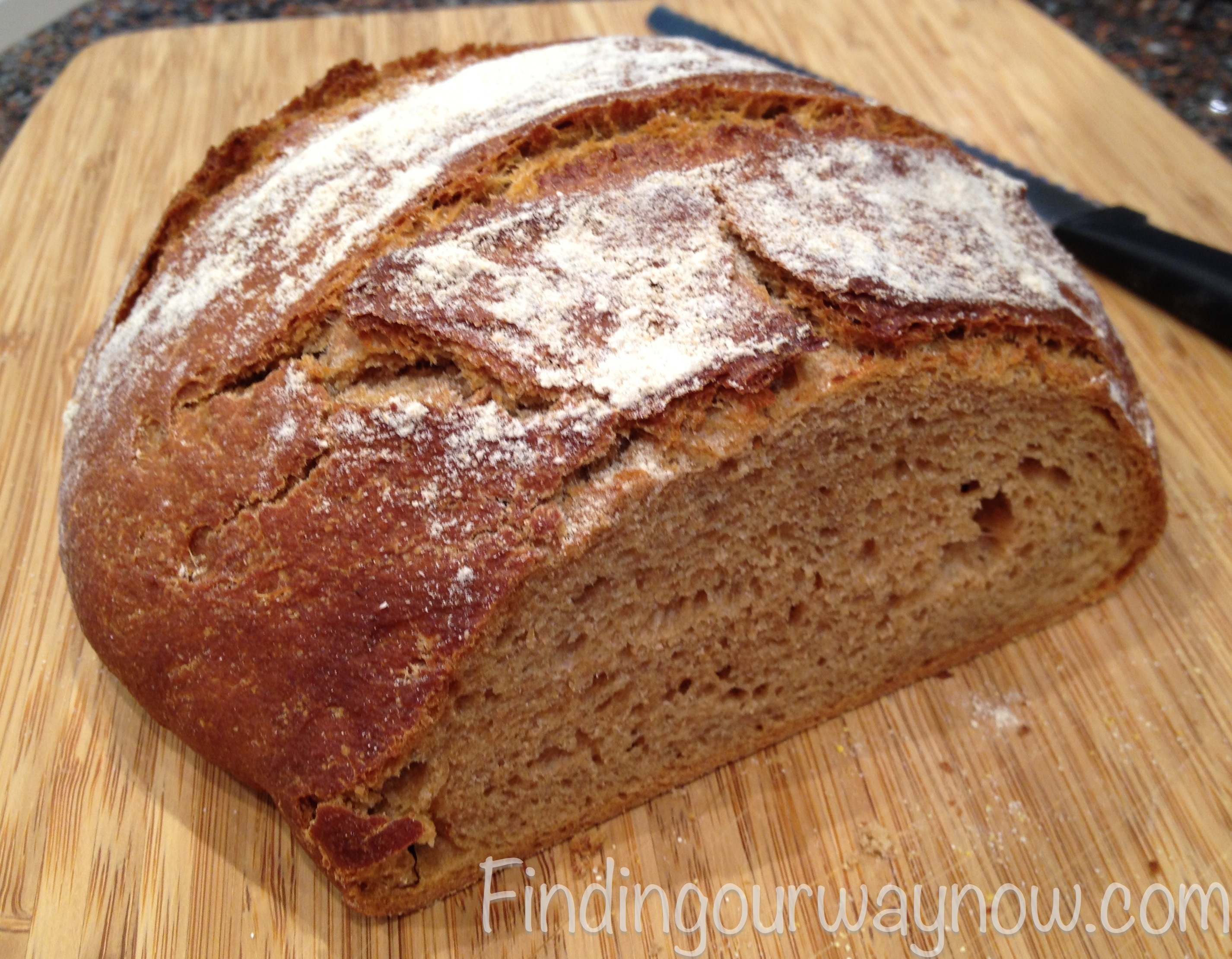 Homemade Whole Wheat Bread For Any Cook: #Recipe - Finding Our Way Now