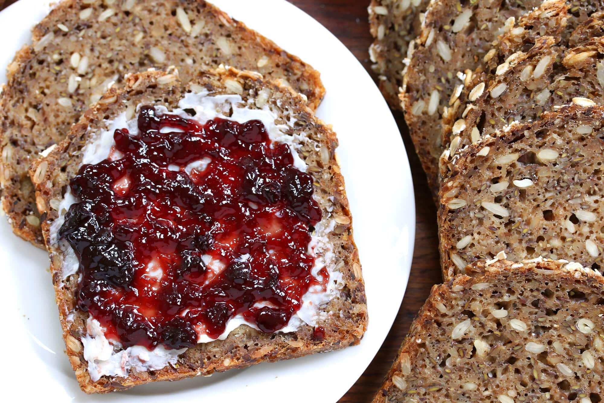 Vollkornbrot (German Whole Grain Seed Bread) - The Daring Gourmet
