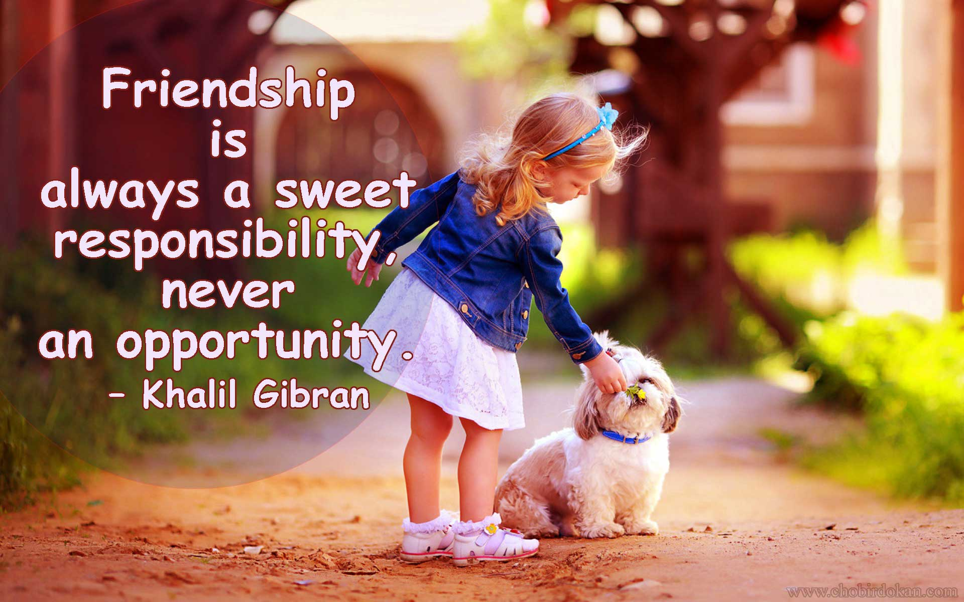 40+ Cute Friendship Quotes With Images | Friendship wallpapers ...