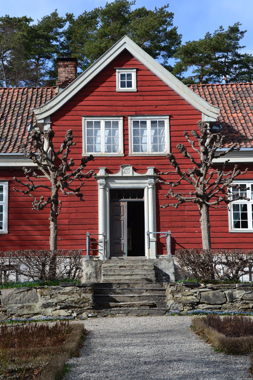 Front door, Building, Shaped, Norwegian, Old, HQ Photo