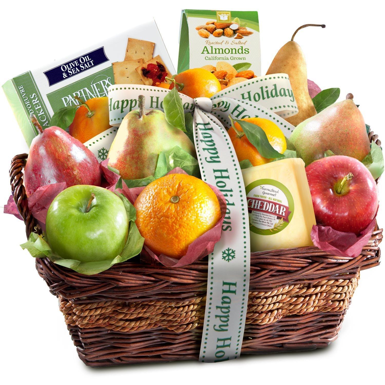 Amazon.com : Classic Gourmet Fruit Basket Gift : Gourmet Fruit Gifts ...