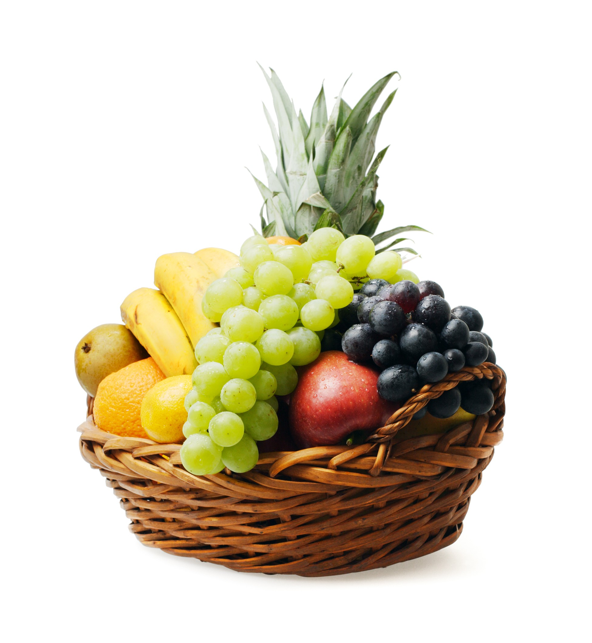Simple Fruit Basket - www.dmarketmovers.com