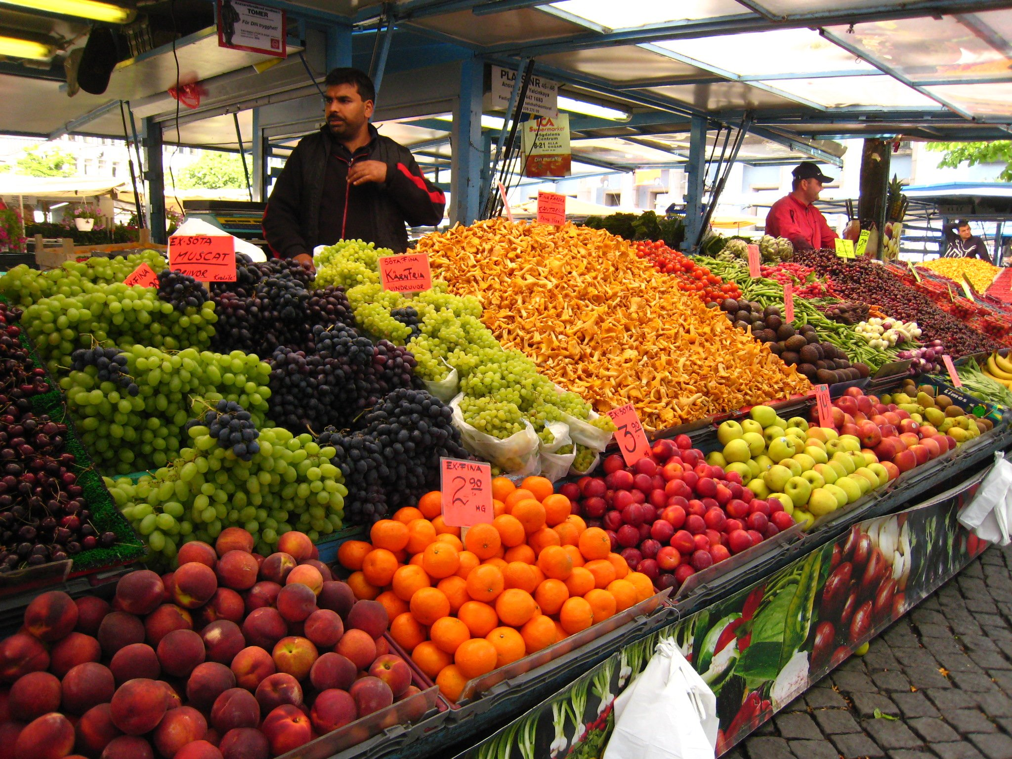 Free photo: Fruits market - Citrus ...