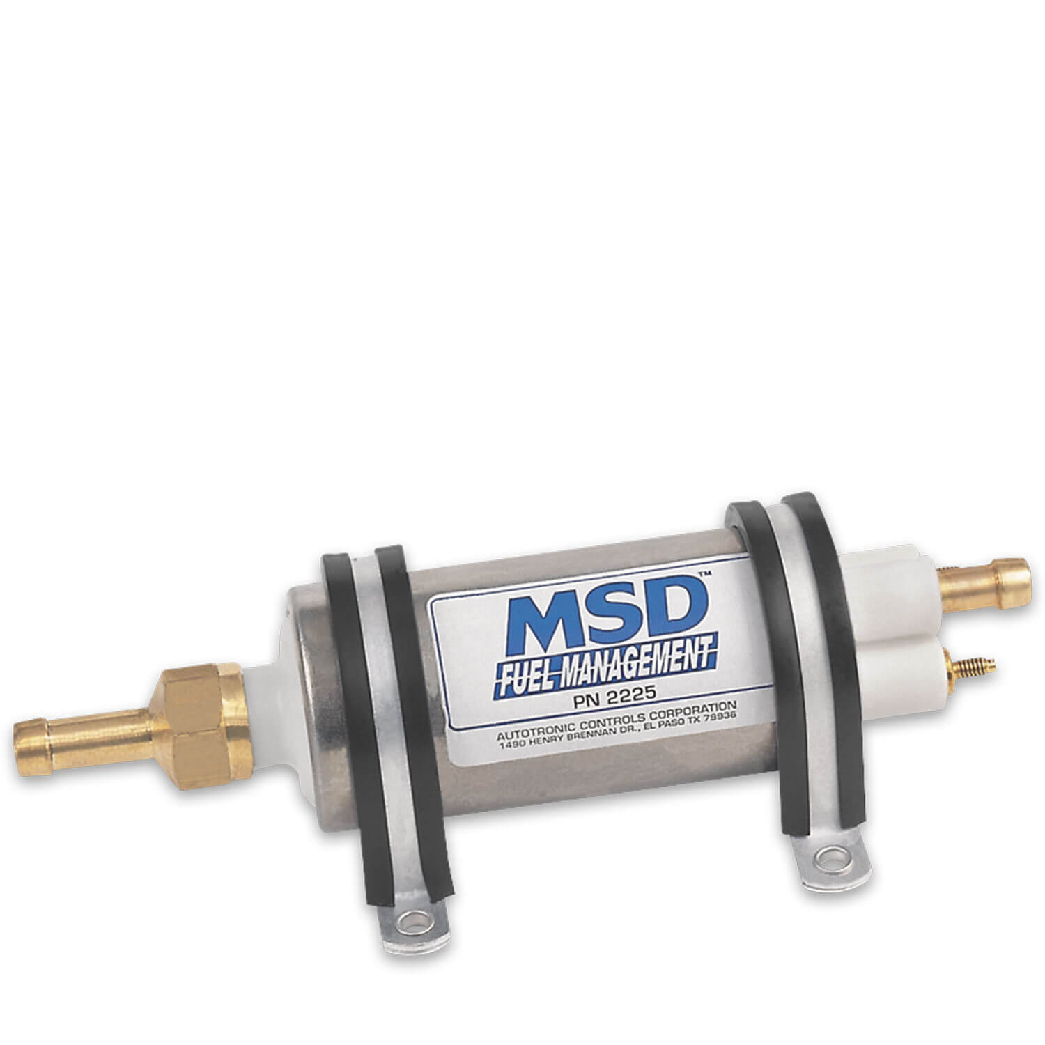 MSD 2225 High Pressure Electric Fuel Pump - MSD Performance Products